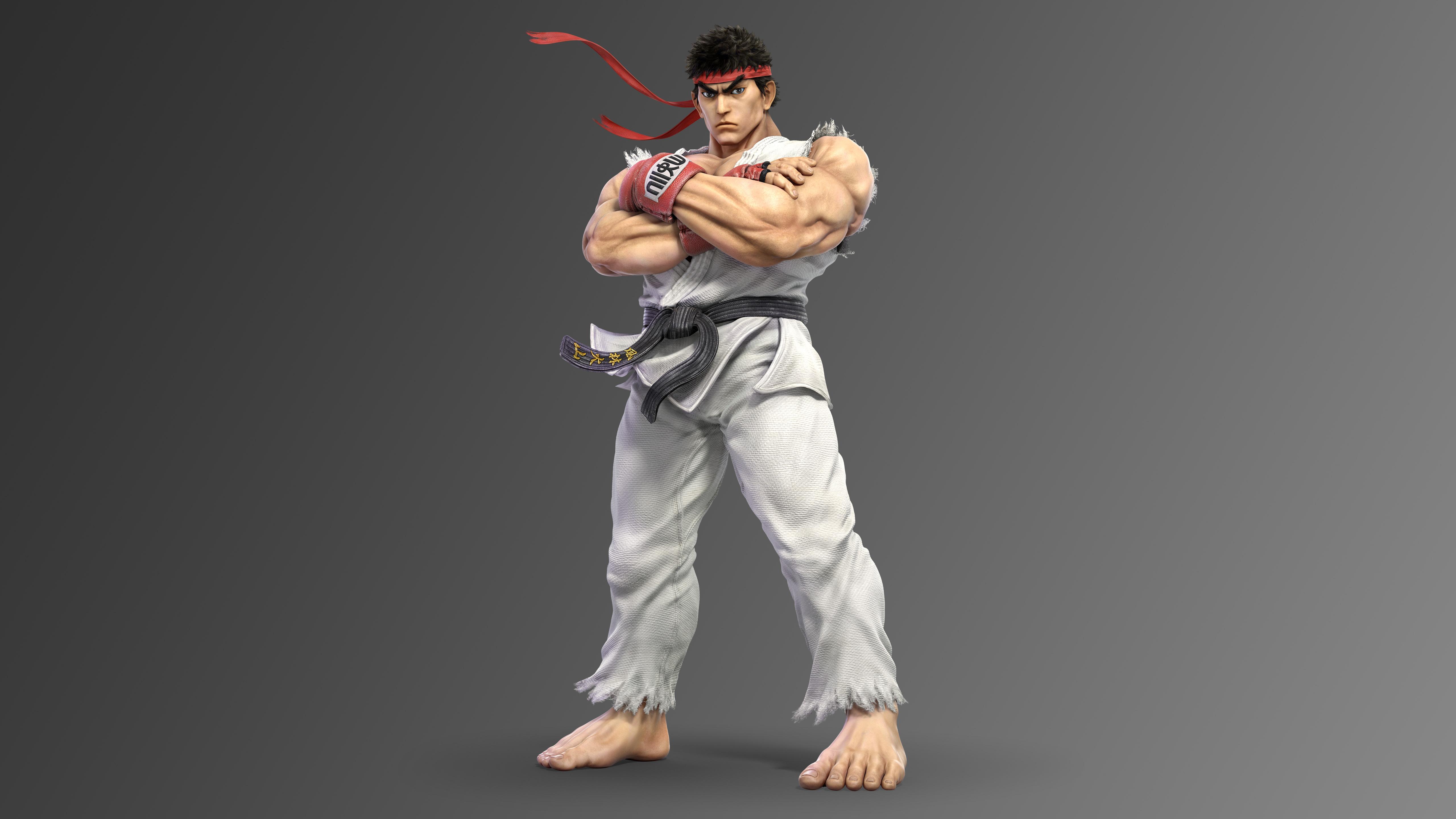 Ryu Super Smash Bros Ultimate 5k, HD Games, 4k Wallpapers