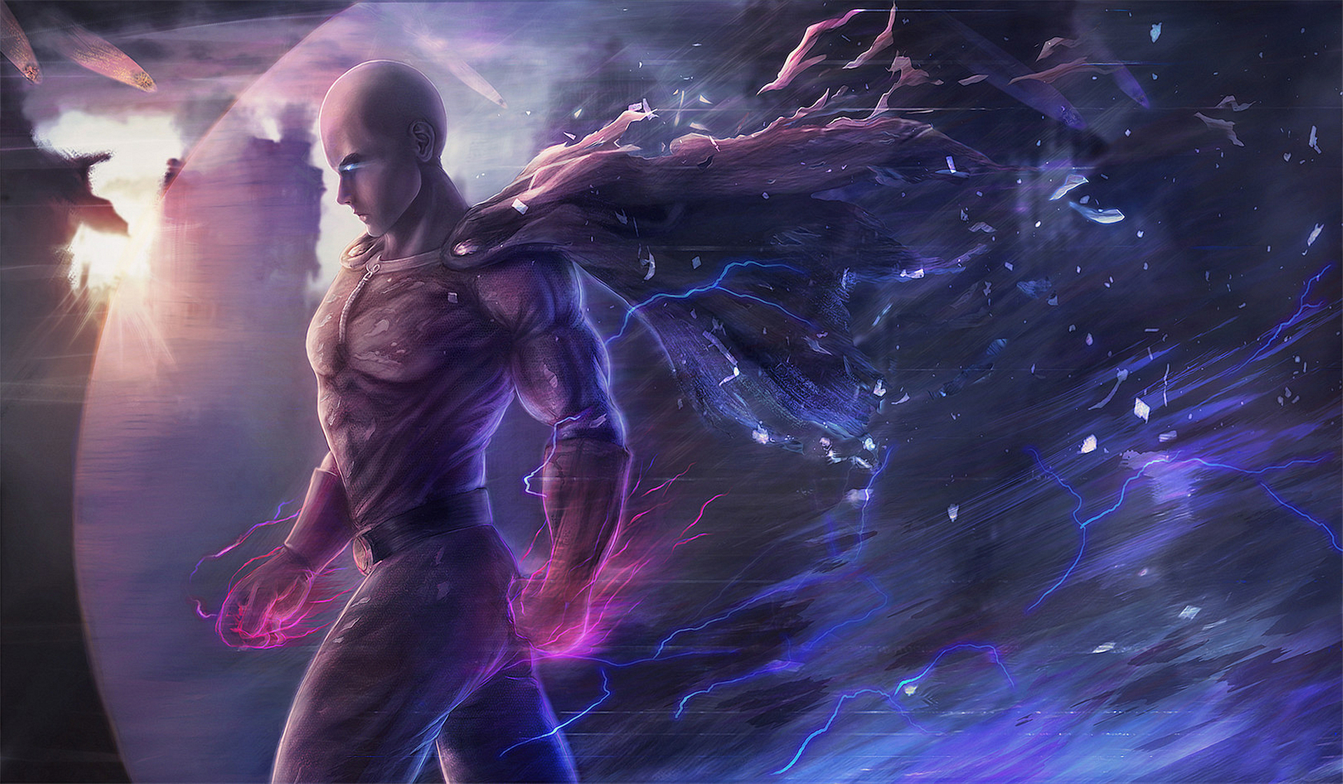 saitama one punch man hd anime 4k wallpapers images