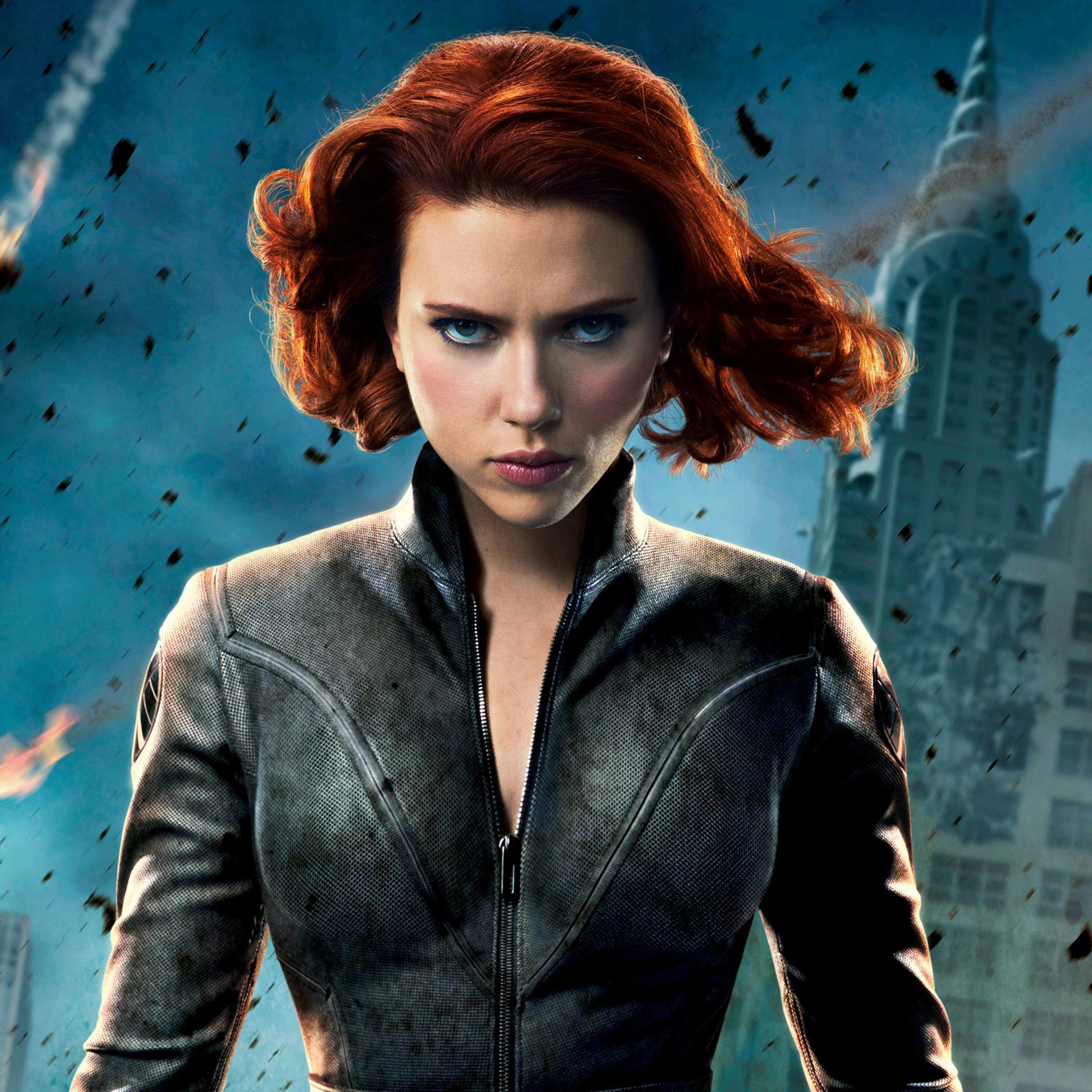 Scarlett Johansson Black Widow Wallpaper Jpg