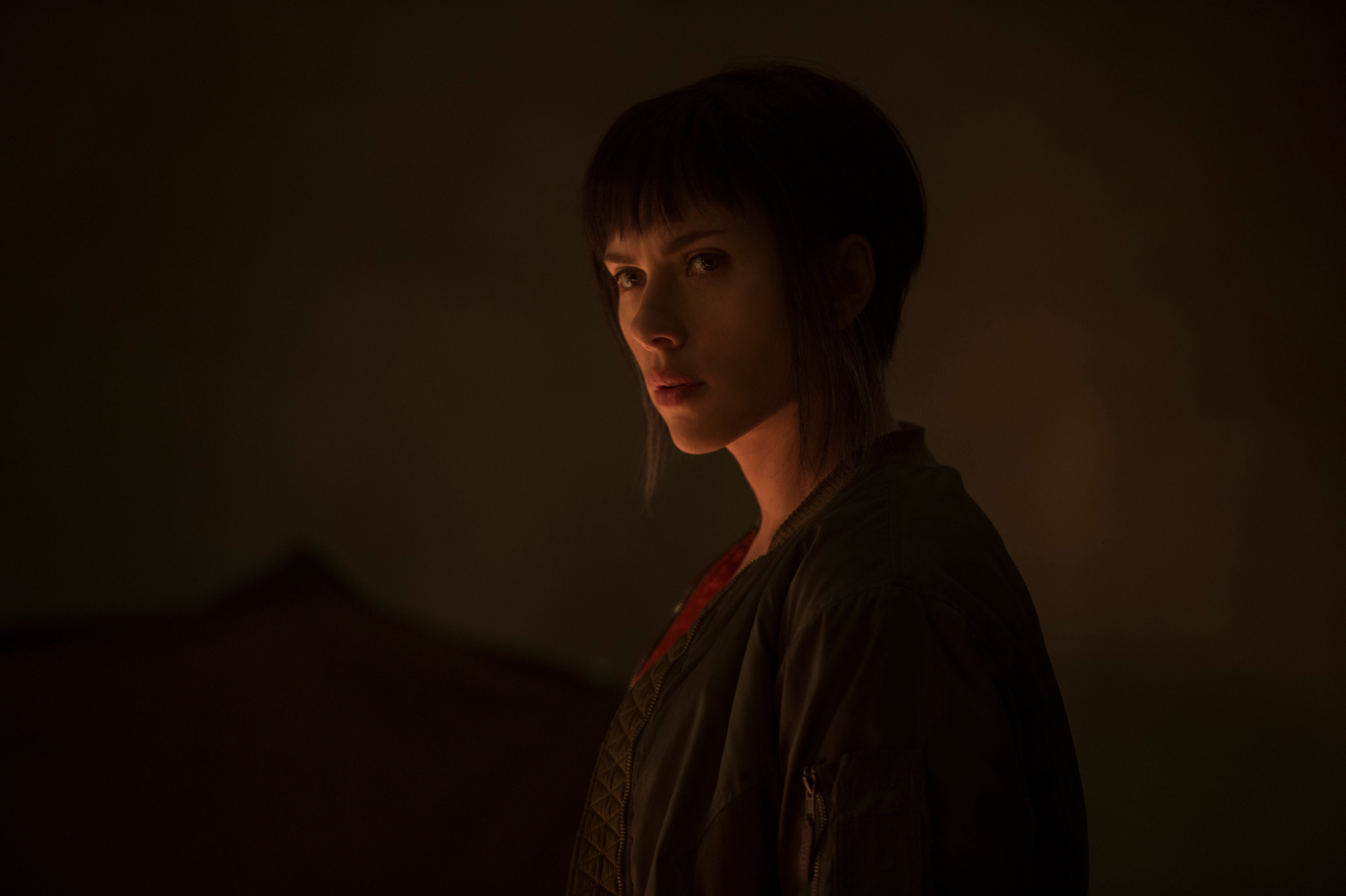 Scarlett Johansson In Ghost In The Shell Movie, HD Movies