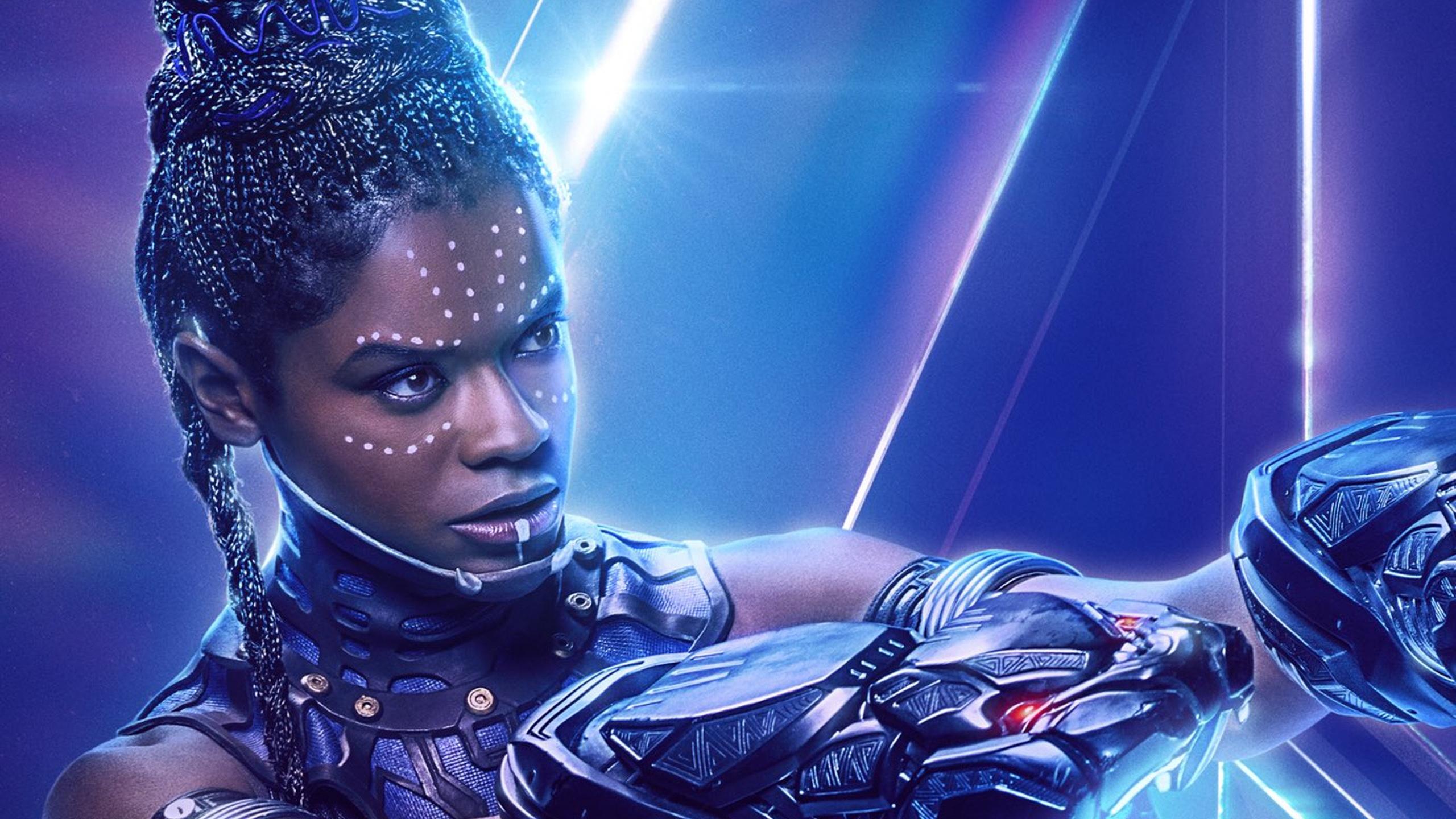 Shuri In Avengers Infinity War New Poster Hd Movies 4k: 2560x1440 Shuri In Avengers Infinity War New Poster 1440P