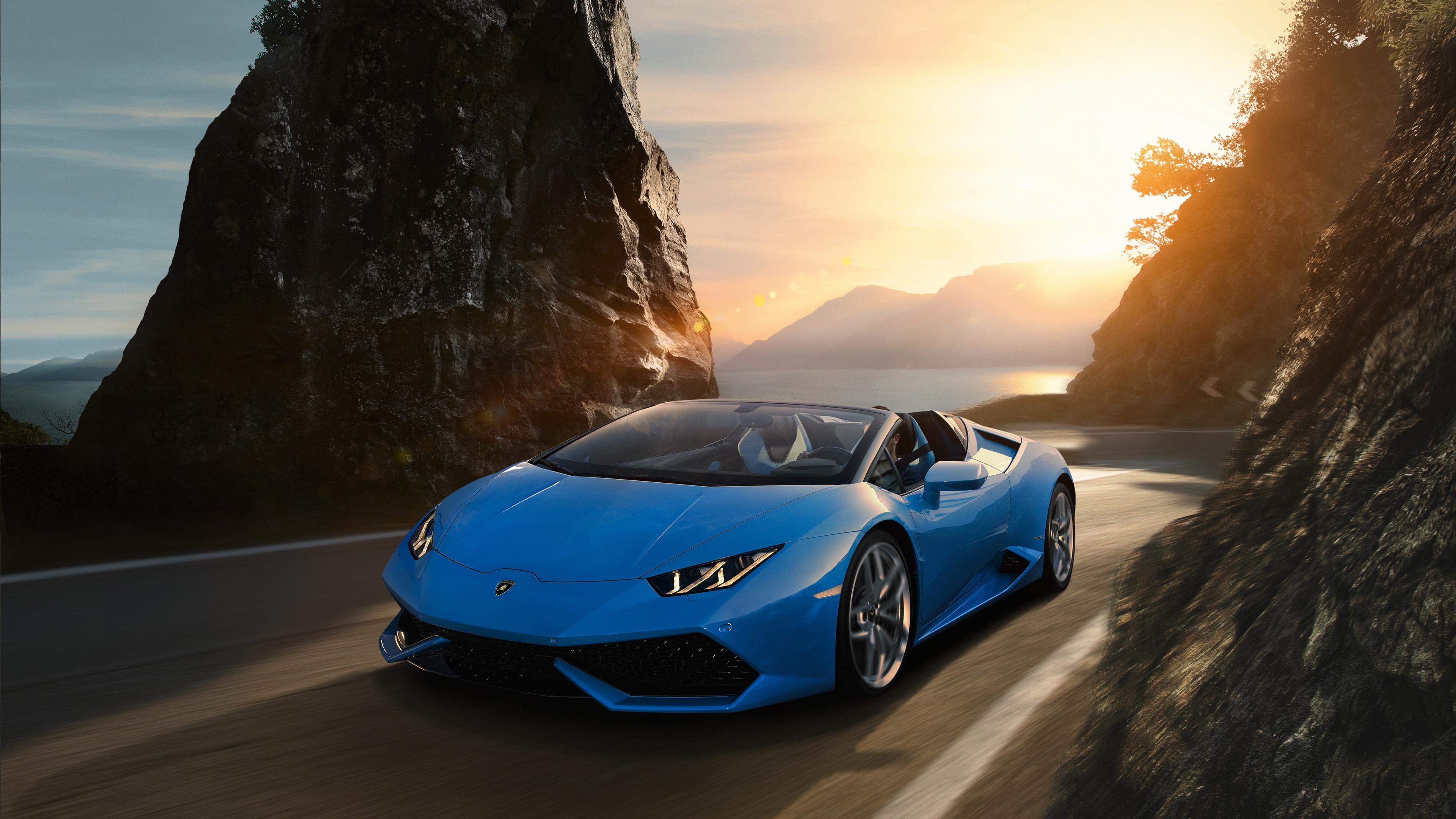 Sky Blue Lamborghini Huracan 4k, HD Cars, 4k Wallpapers ...