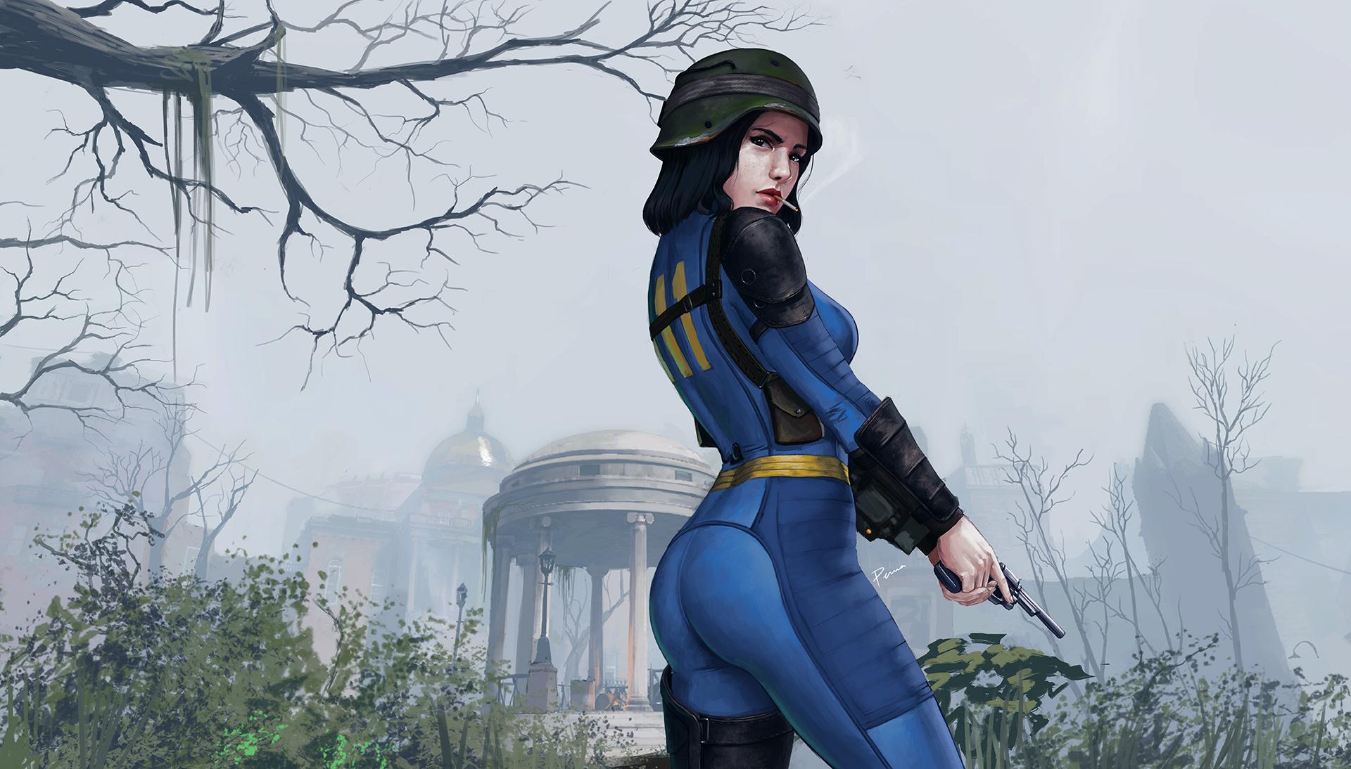 Sole Survivor Fallout 4 Artwork, HD Games, 4k Wallpapers ...