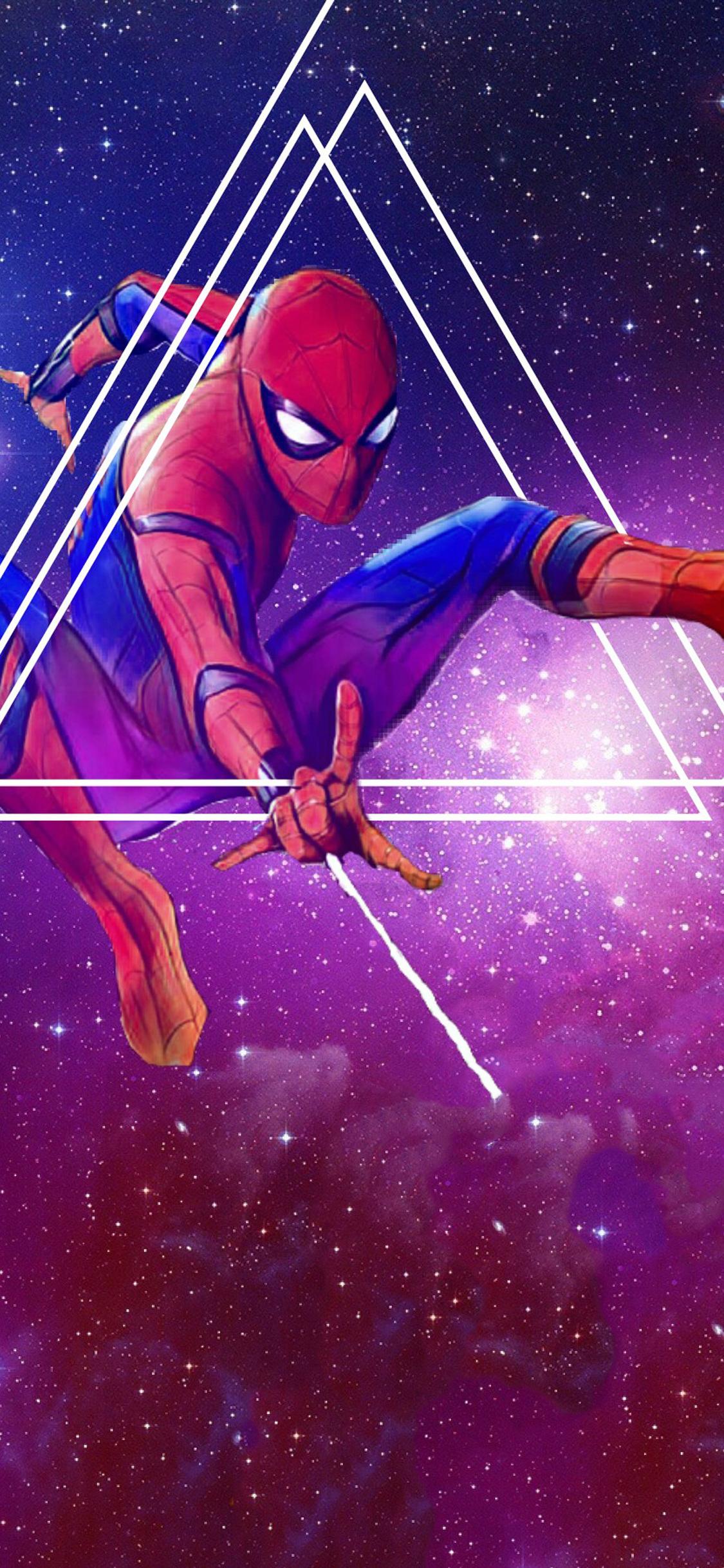 1125x2436 spiderman avengers infinity war artwork iphone - Avengers infinity war wallpaper iphone ...