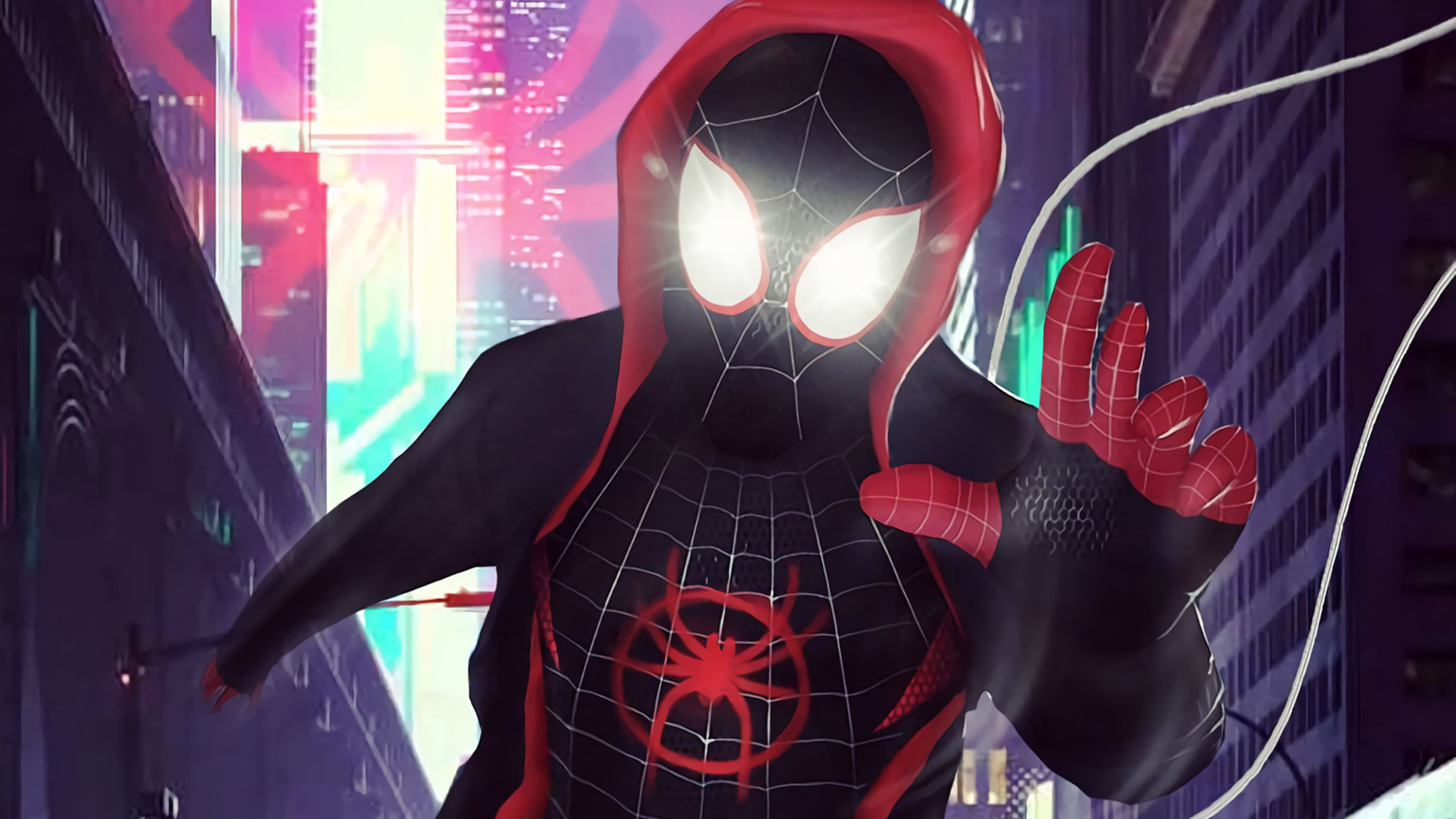 2160x3840 SpiderMan Into The Spider Verse 2018 Digital Art