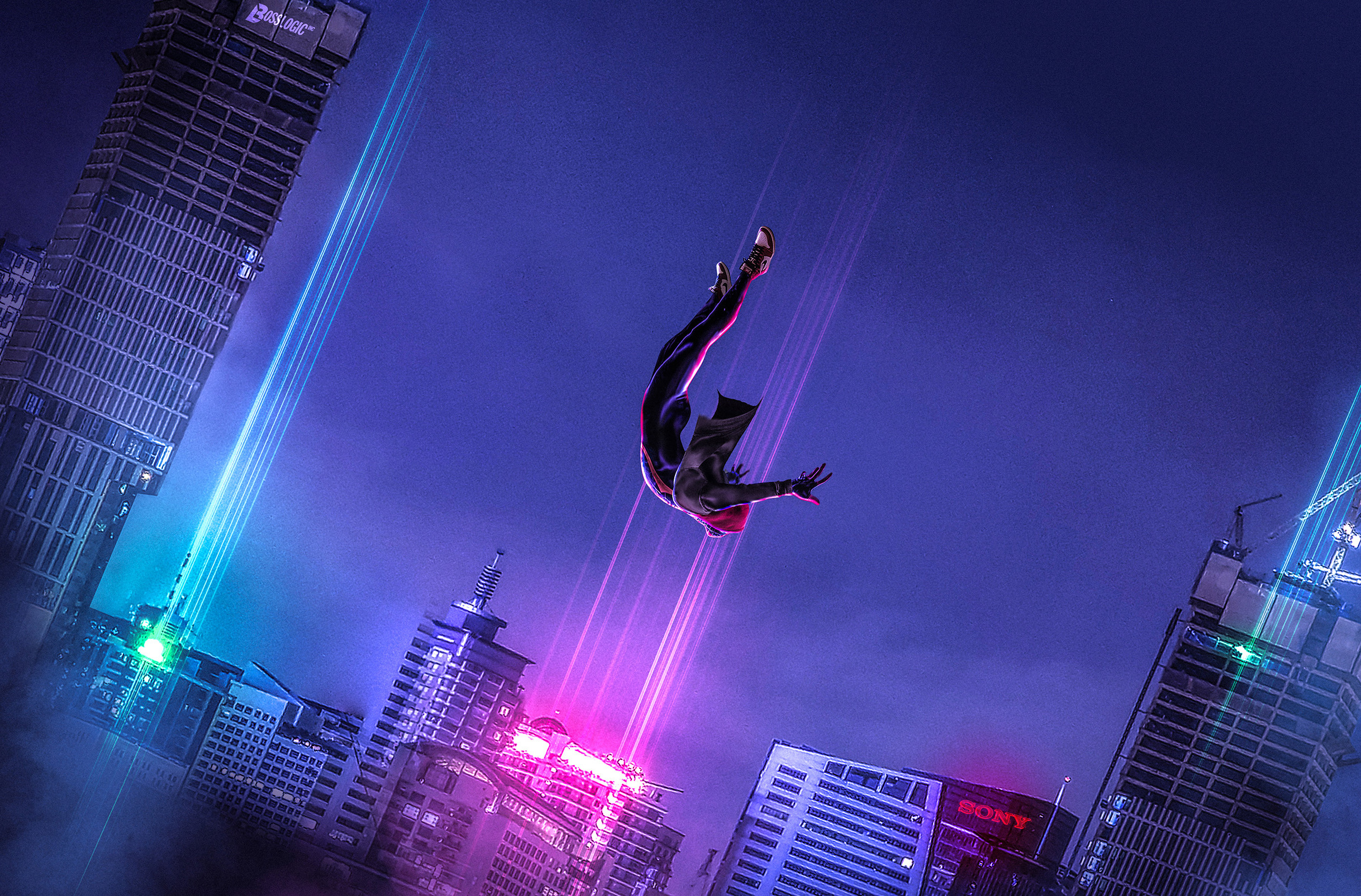 SpiderMan Into The Spider Verse Art, HD Movies, 4k