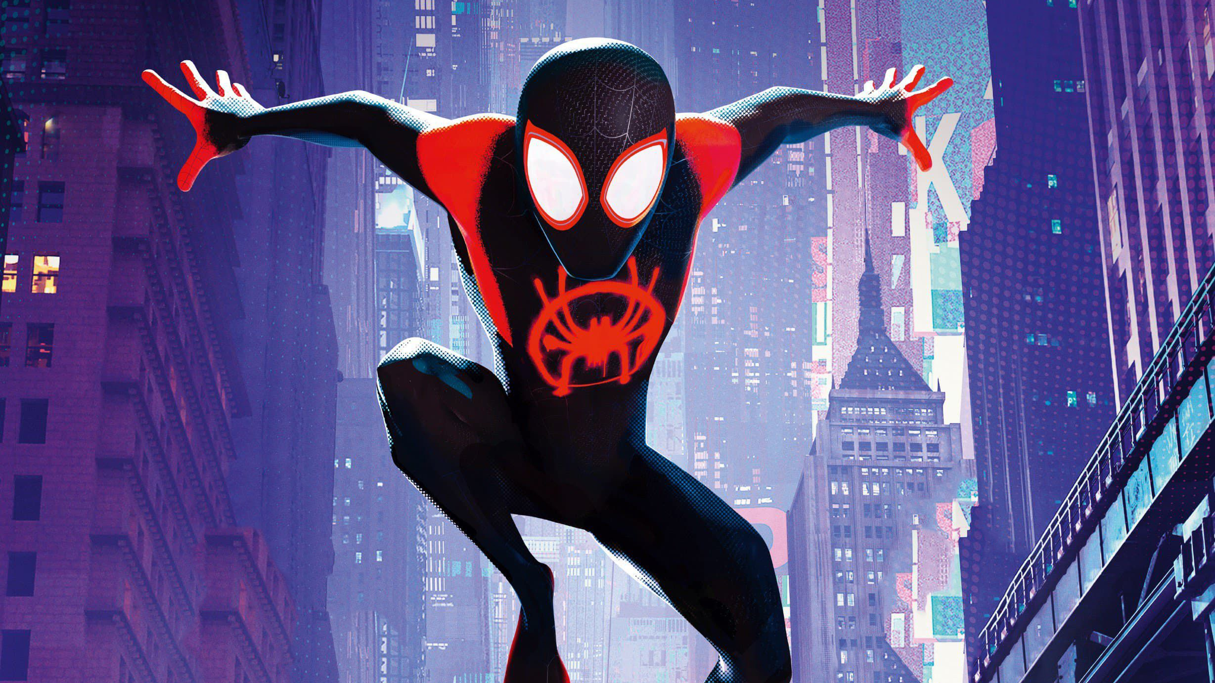 SpiderMan Into The Spider Verse France Poster, HD Movies