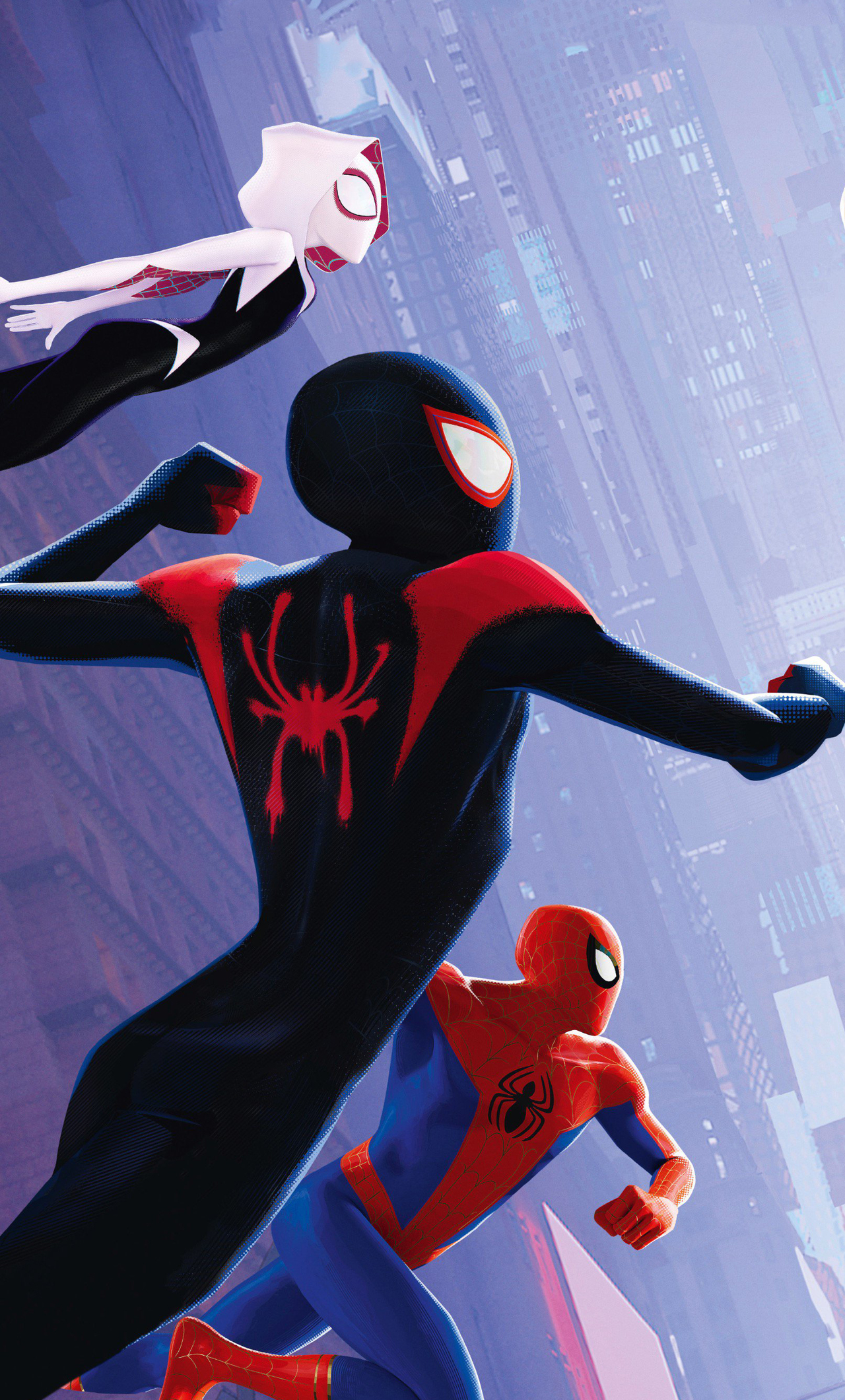 1280x2120 spiderman into the spider verse international - Iphone 6 spiderman wallpaper ...