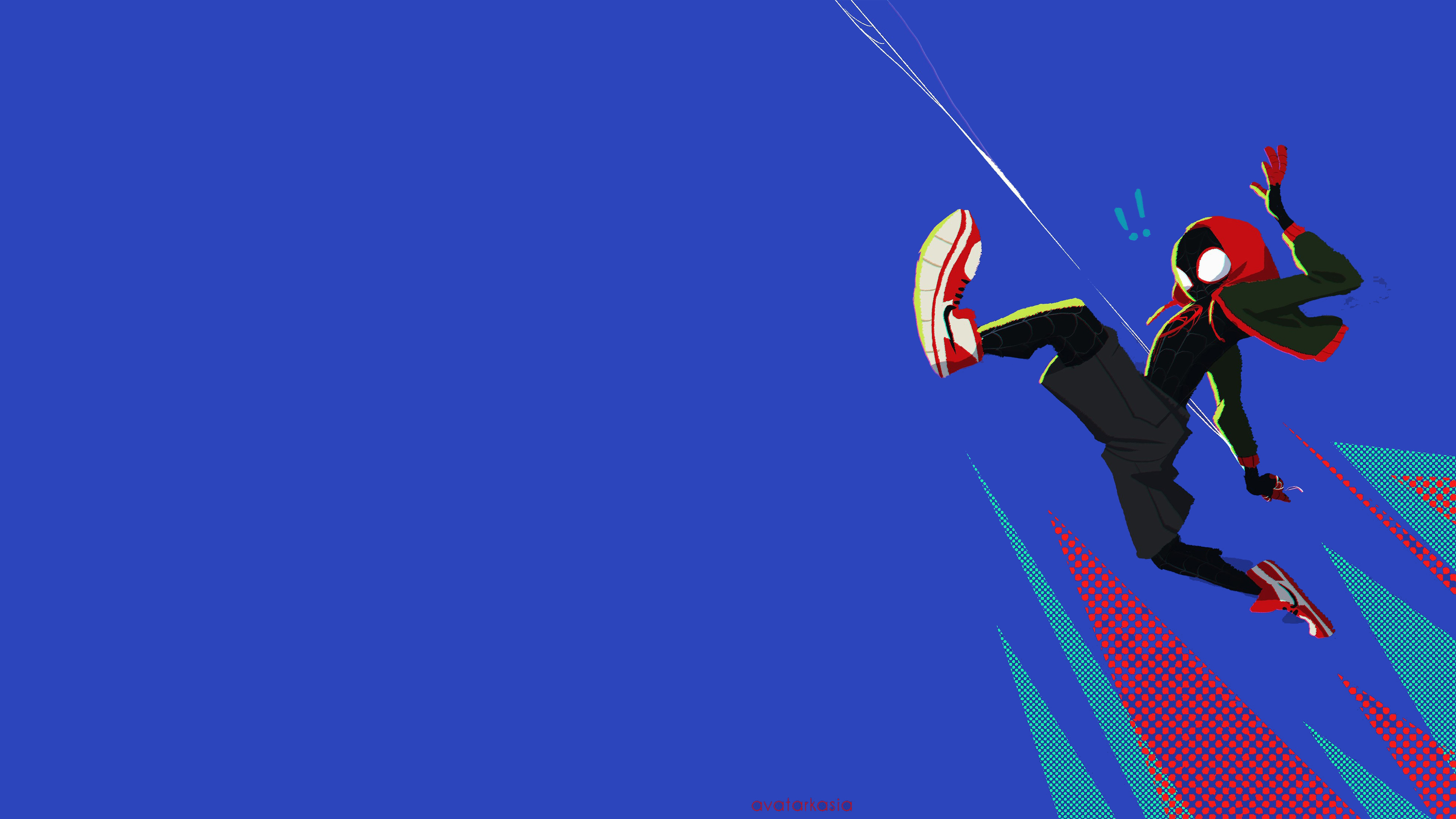2560x1440 Spiderman Into The Spider Verse Movie 4k 2018 Art 1440p