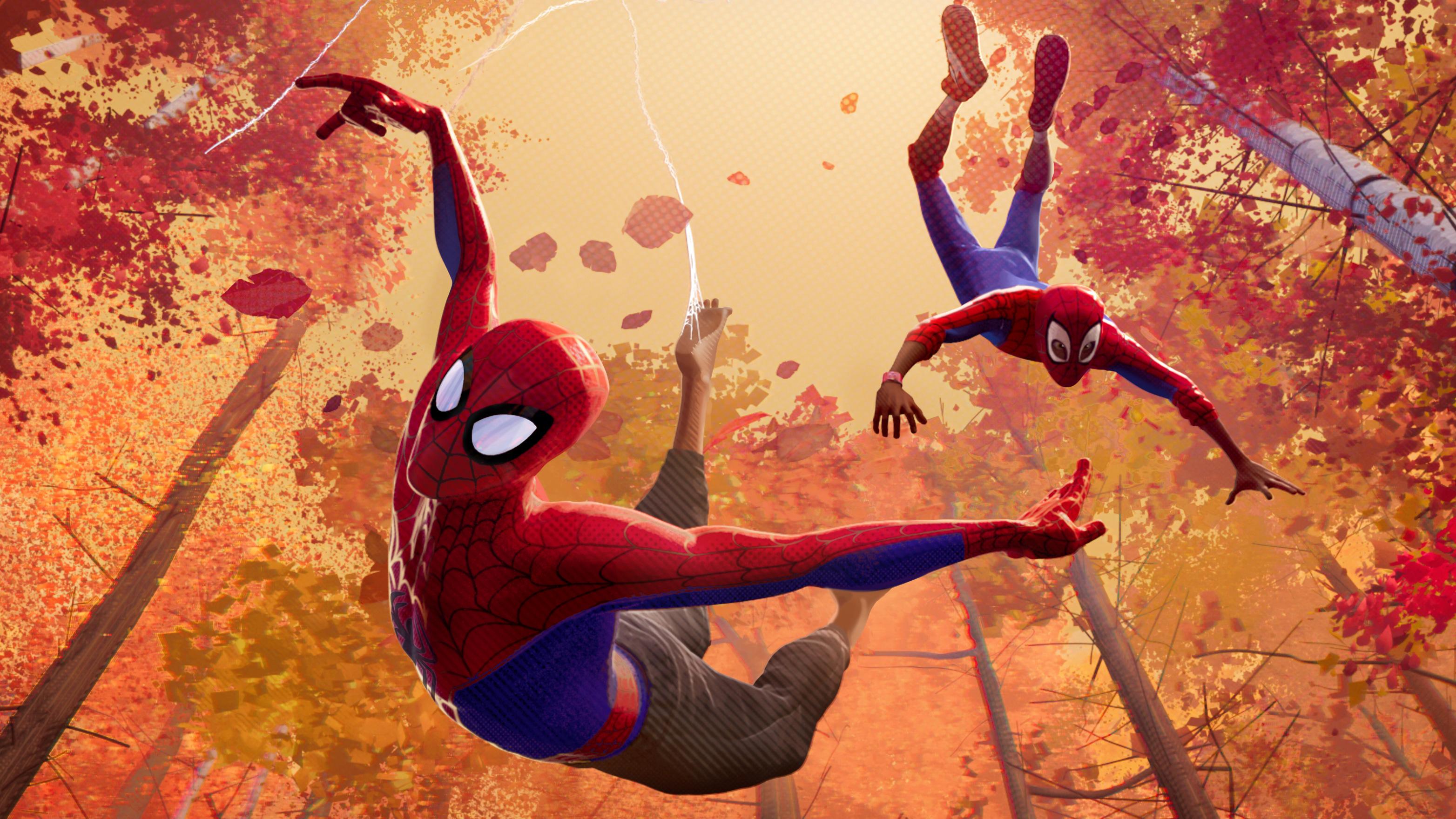 1366x768 SpiderMan Into The Spider Verse Movie 4k 1366x768