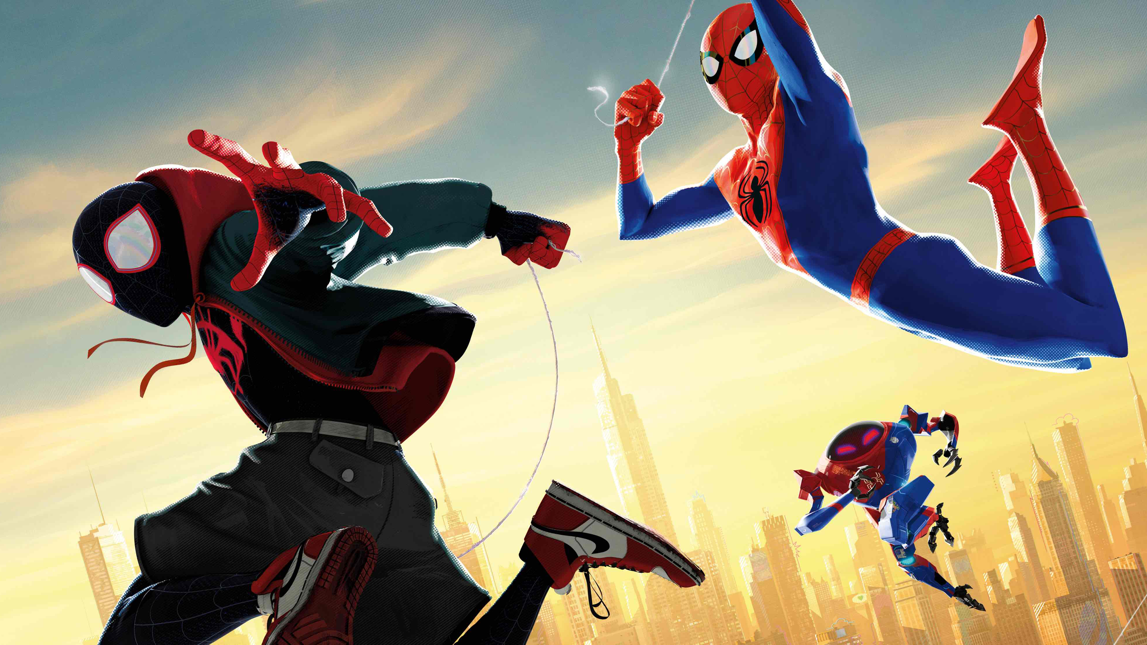 Spiderman Into The Spiderverse 4k, HD Movies, 4k