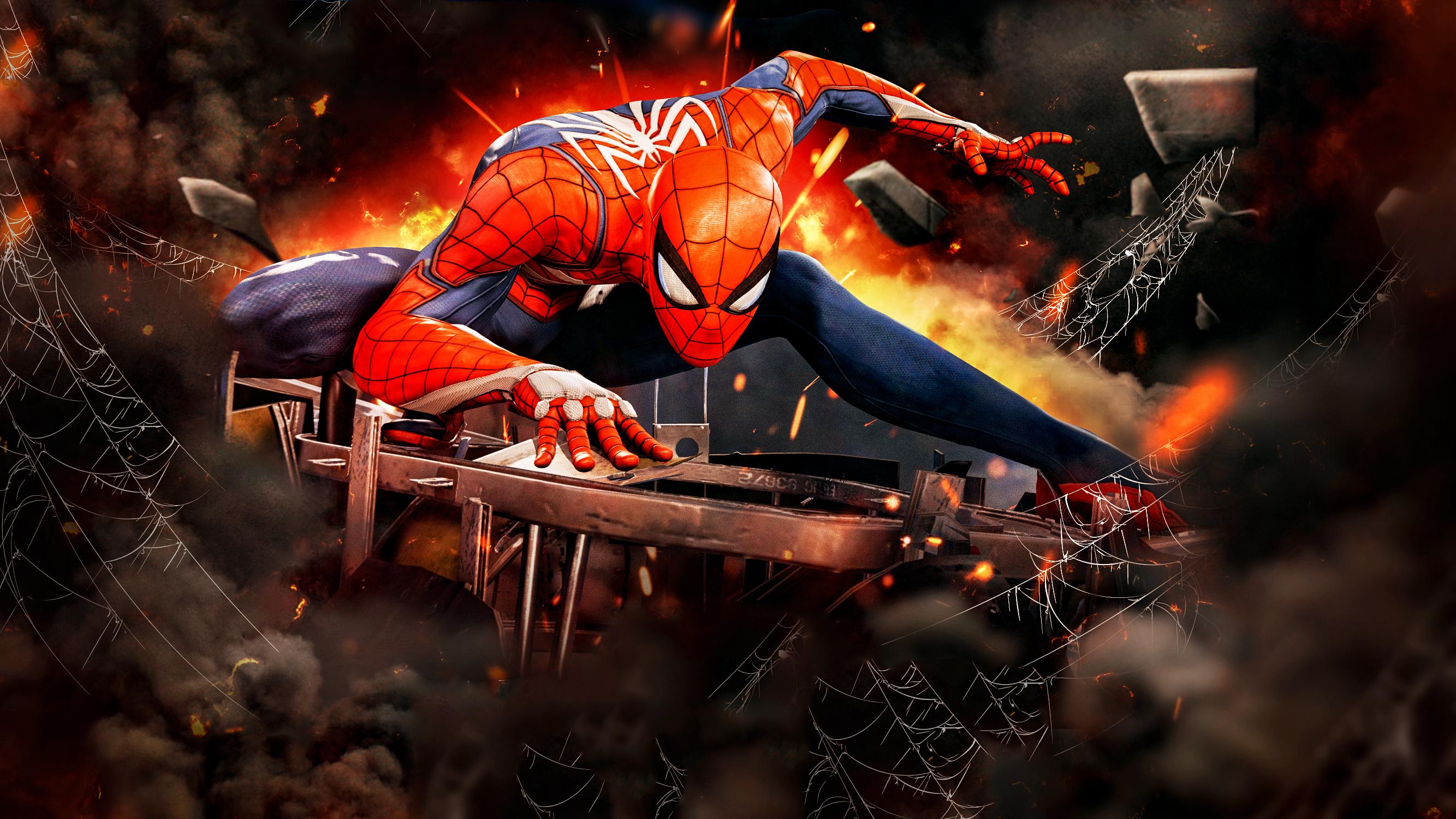 2560x1080 Final Fantasy Xv Ps4 2560x1080 Resolution Hd 4k: 2560x1080 Spiderman Ps4 Game Artwork 2560x1080 Resolution