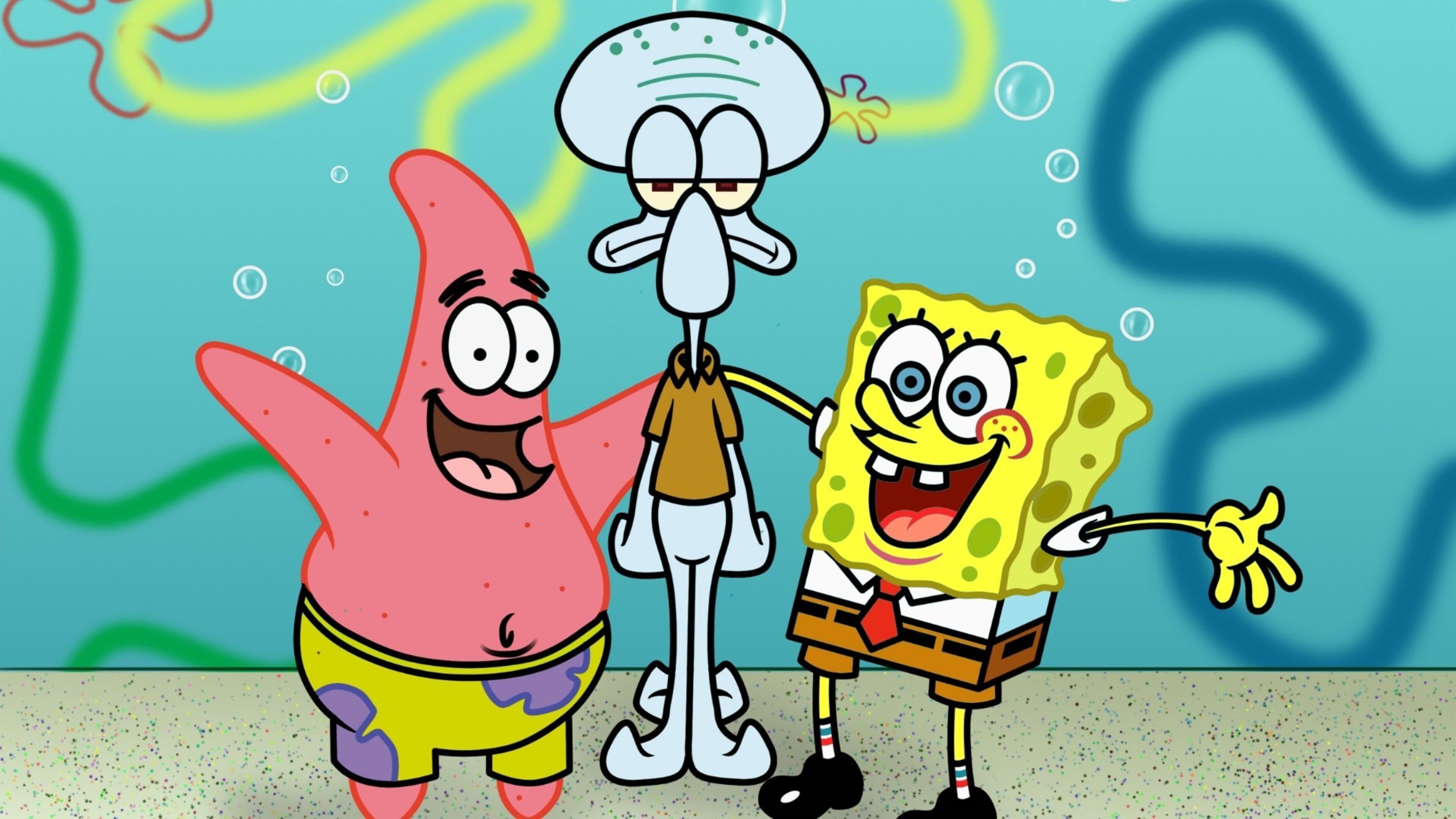 3840x2160 Spongebob Squarepants 4k HD 4k Wallpapers ...