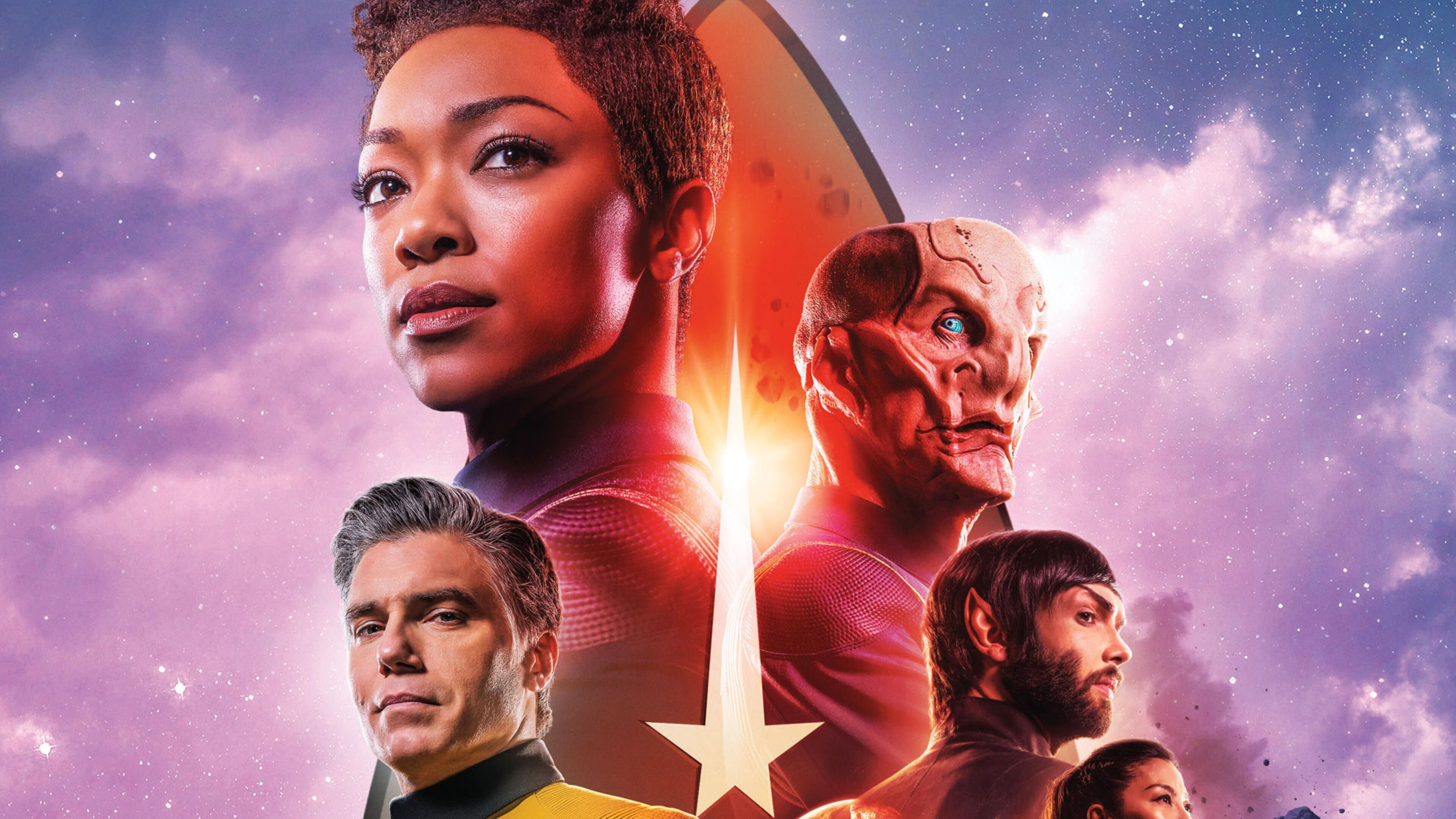 3840x2160 Star Trek Discovery Season 2 Poster 4k Hd 4k