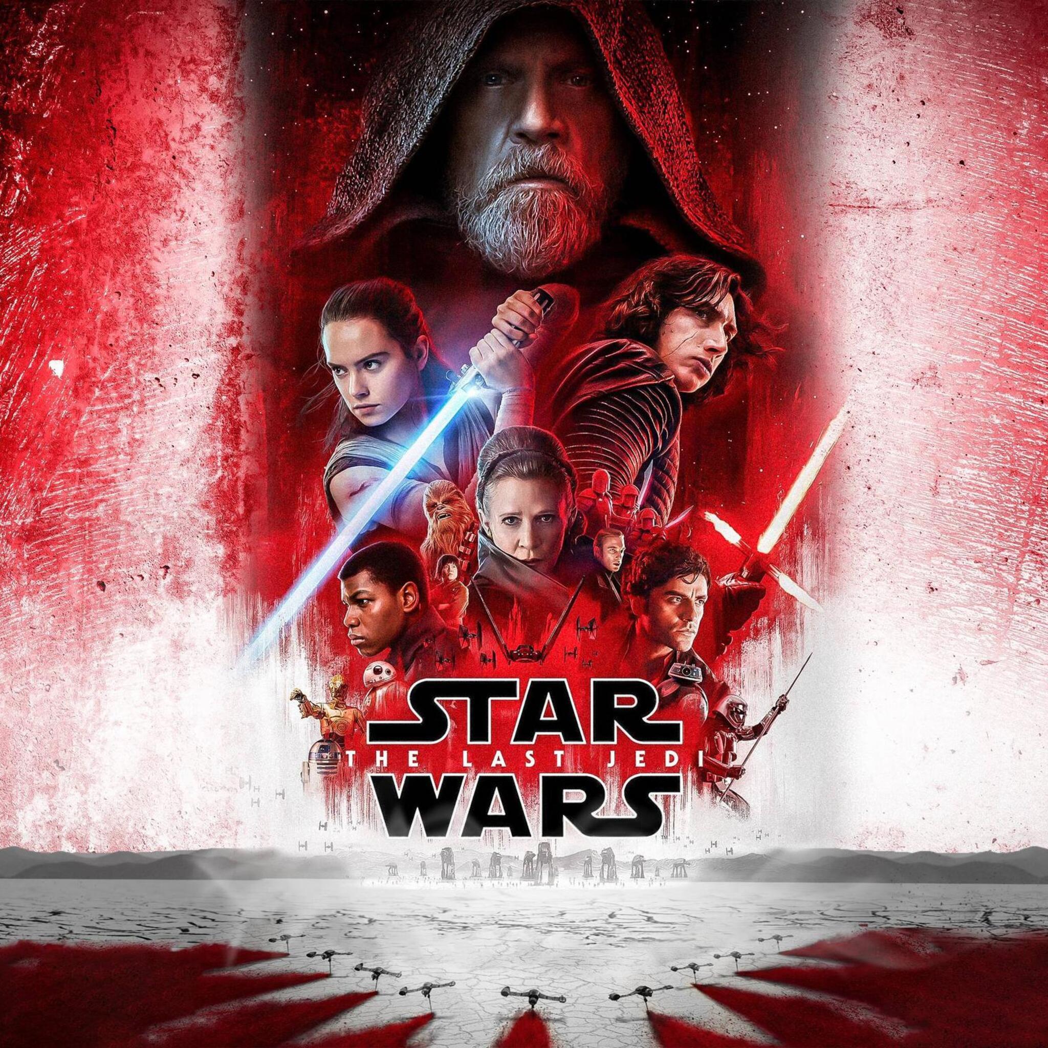 Jedi Wallpaper: 2048x2048 Star Wars The Last Jedi 2017 Ipad Air HD 4k