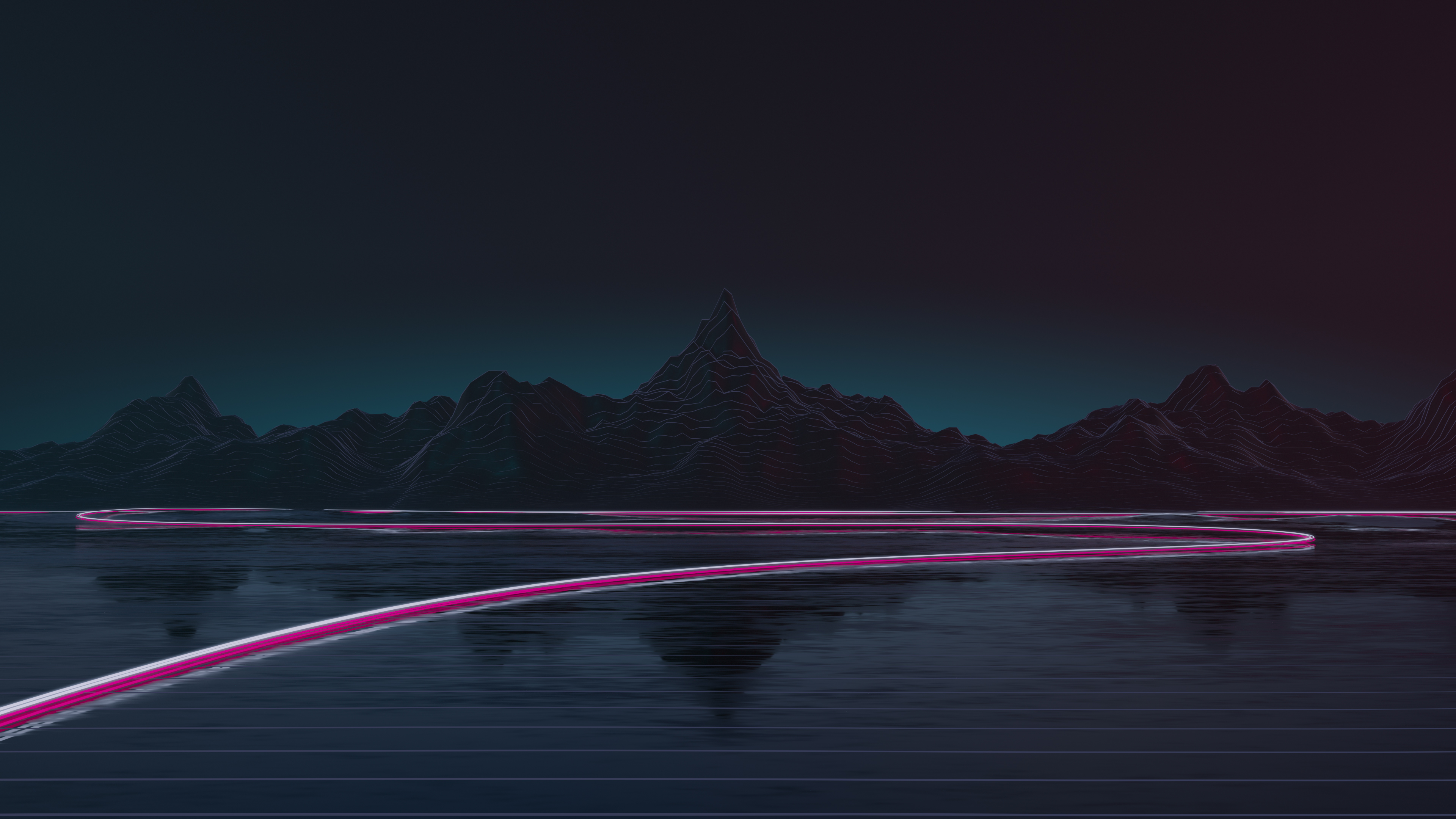 Synthwave road 4k hd artist 4k wallpapers images backgrounds photos and pictures - Background images 4k hd ...