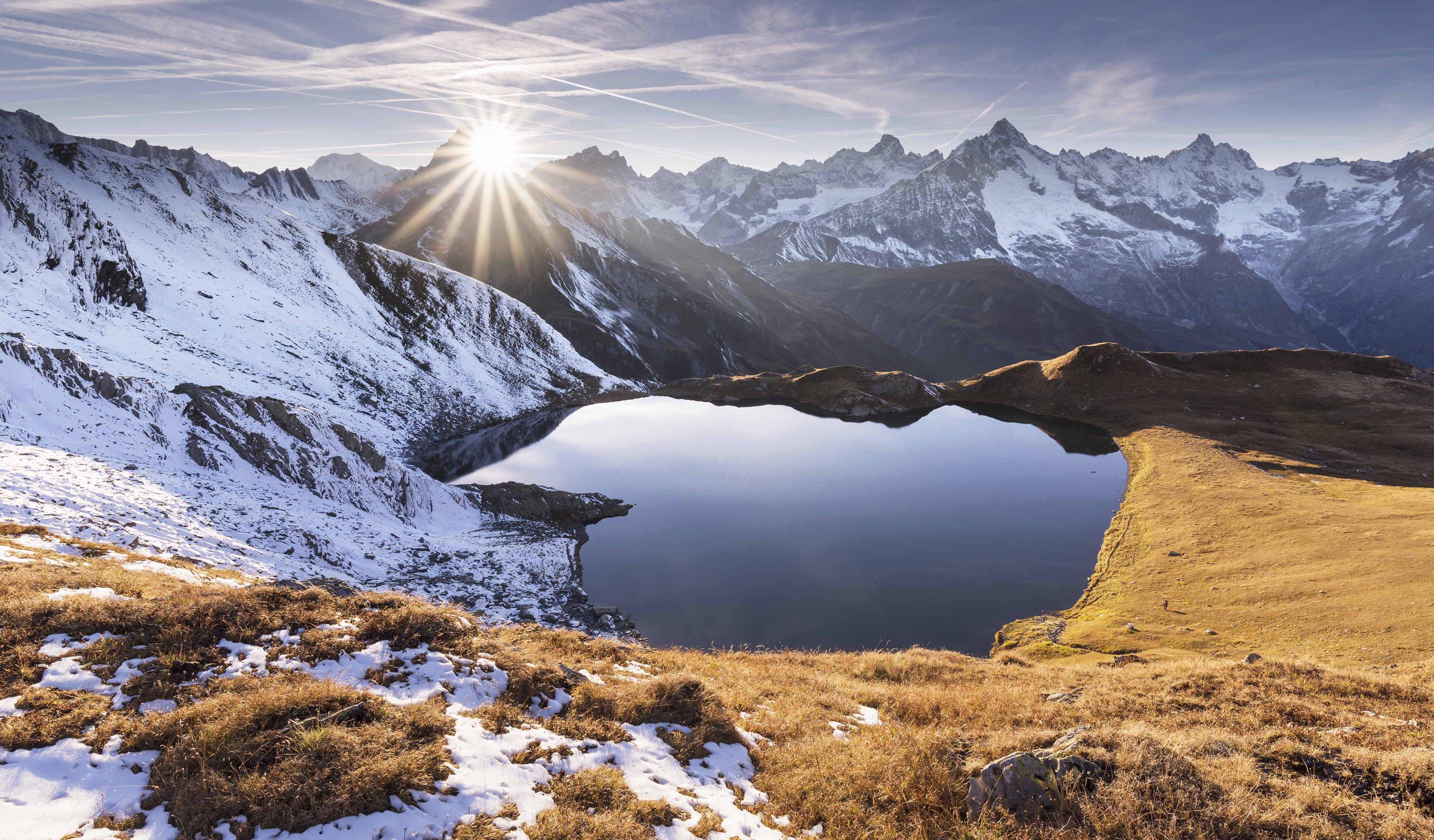 Tarn lake mountains hd nature 4k wallpapers images - Wallpapers 1280x800 nature ...