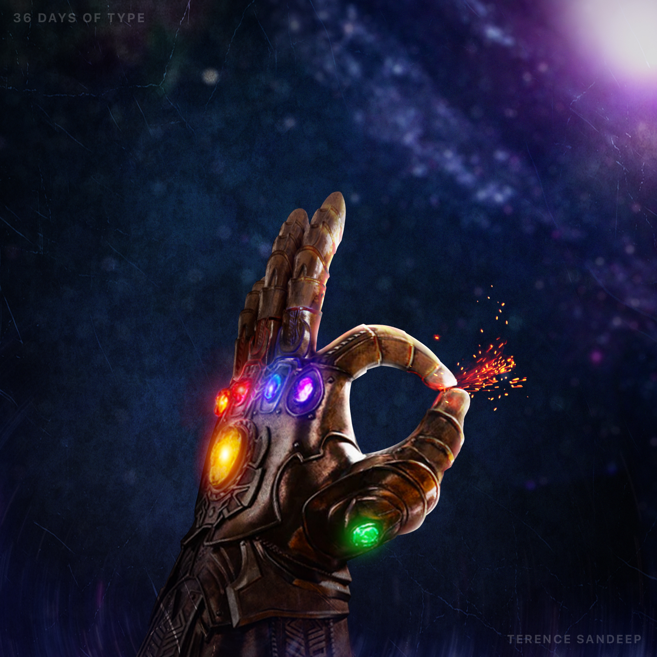 1920x1080 Thanos Gauntlet Laptop Full HD 1080P HD 4k