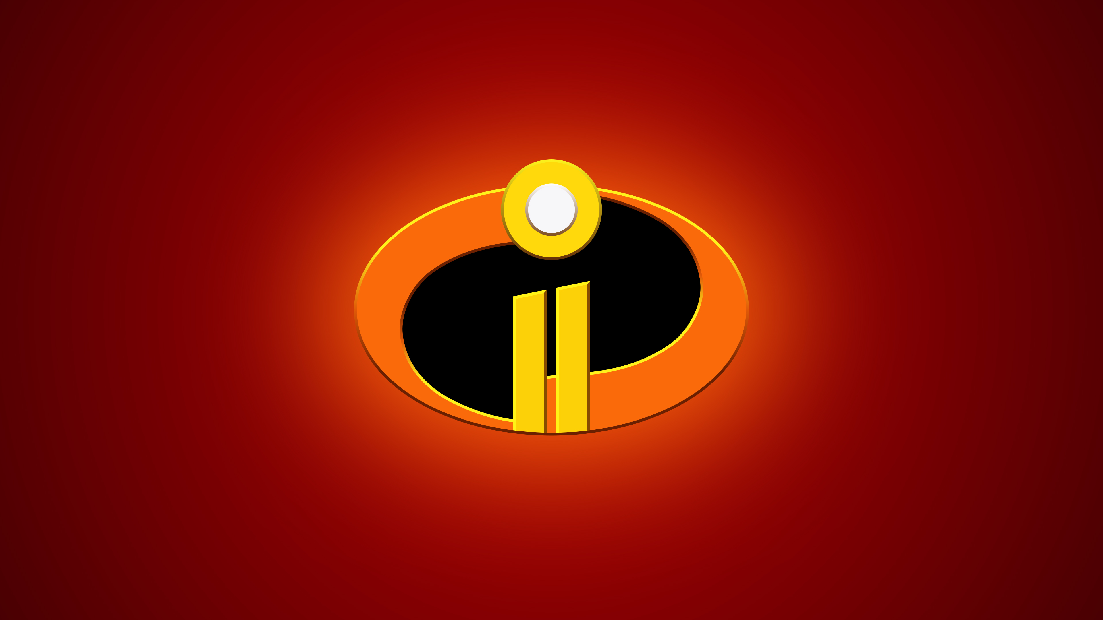 Incredible Ii Wallpaper Free: The Incredibles 2 Logo 4k, HD Movies, 4k Wallpapers