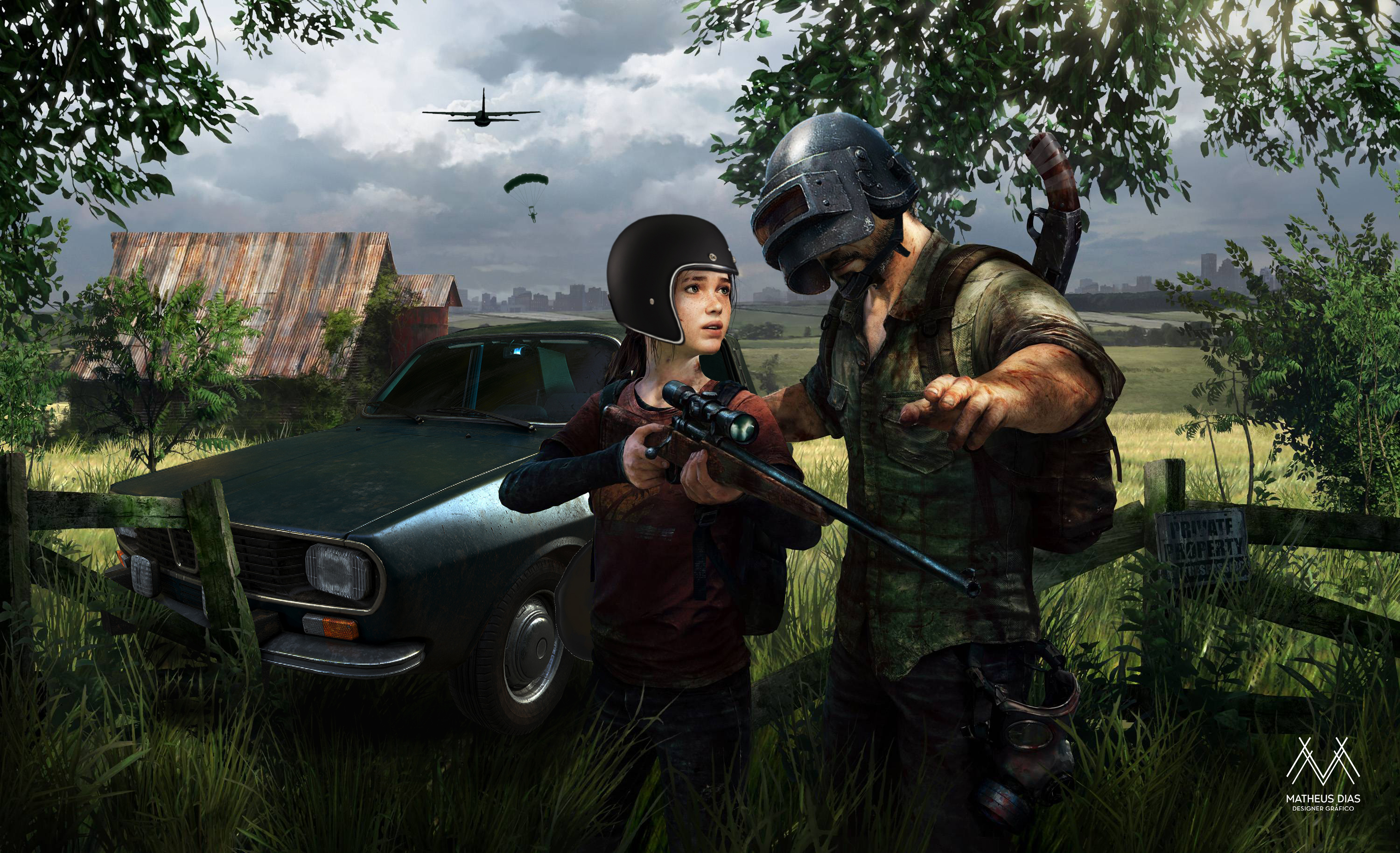 1920x1080 Pubg Characters 4k Laptop Full Hd 1080p Hd 4k: 1920x1080 The Last Of Us As Pubg Character Laptop Full HD