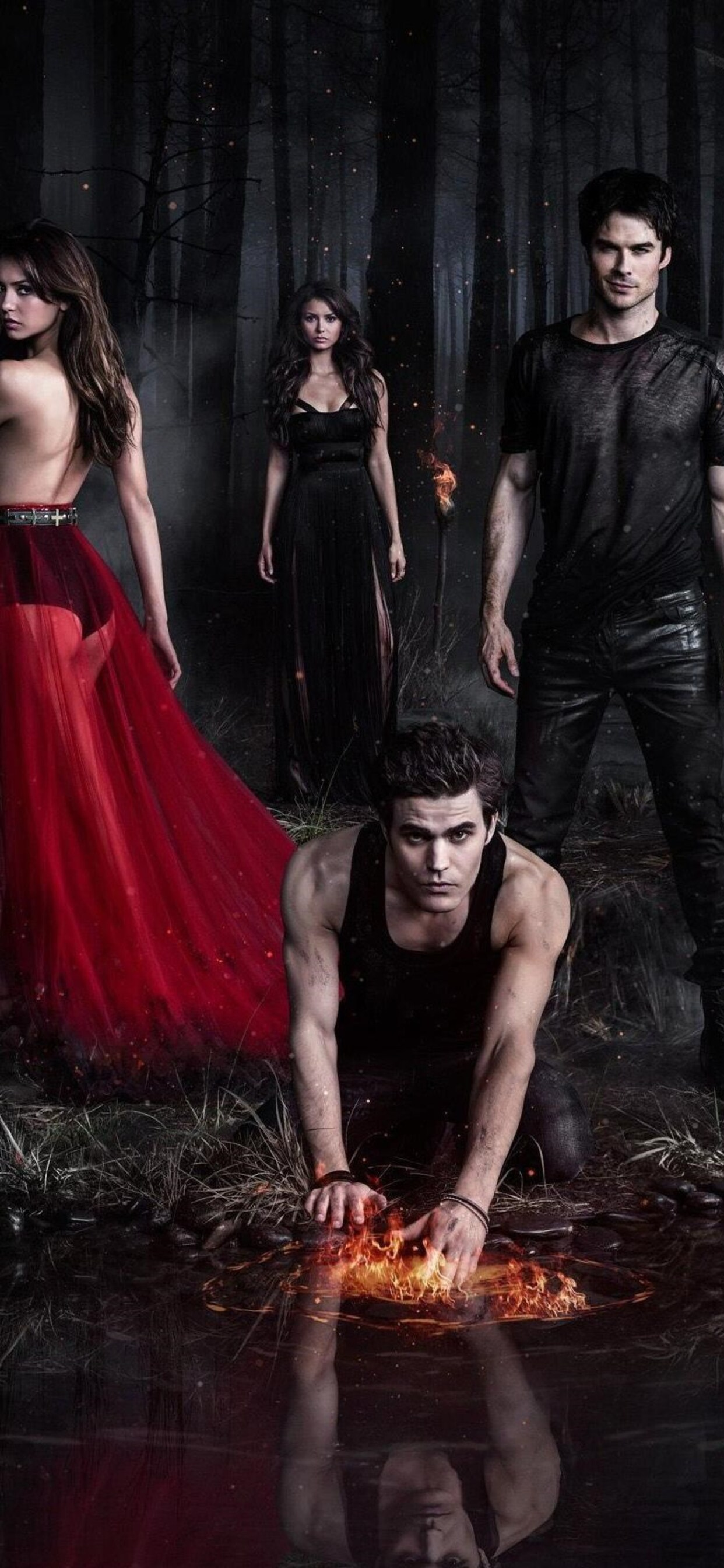 1242x2688 The Vampire Diaries TV Series Iphone XS MAX HD ...