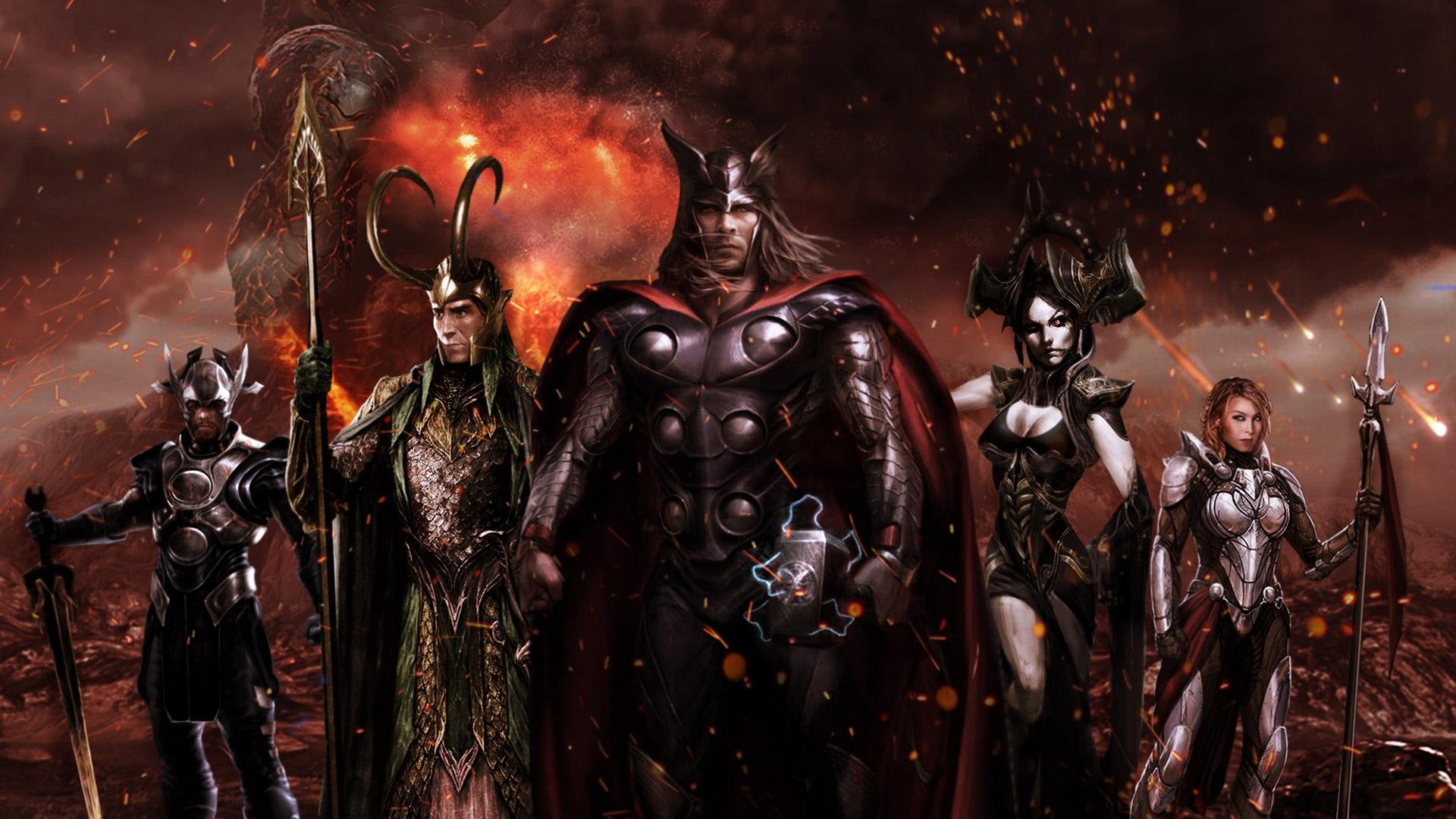 Thor ragnarok fan poster hd movies 4k wallpapers images - Thor ragnarok wallpaper 4k ...