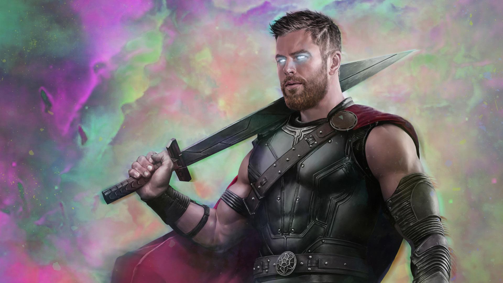 1920x1080 thor ragnarok movie art 2018 laptop full hd - Thor ragnarok hd wallpapers download ...