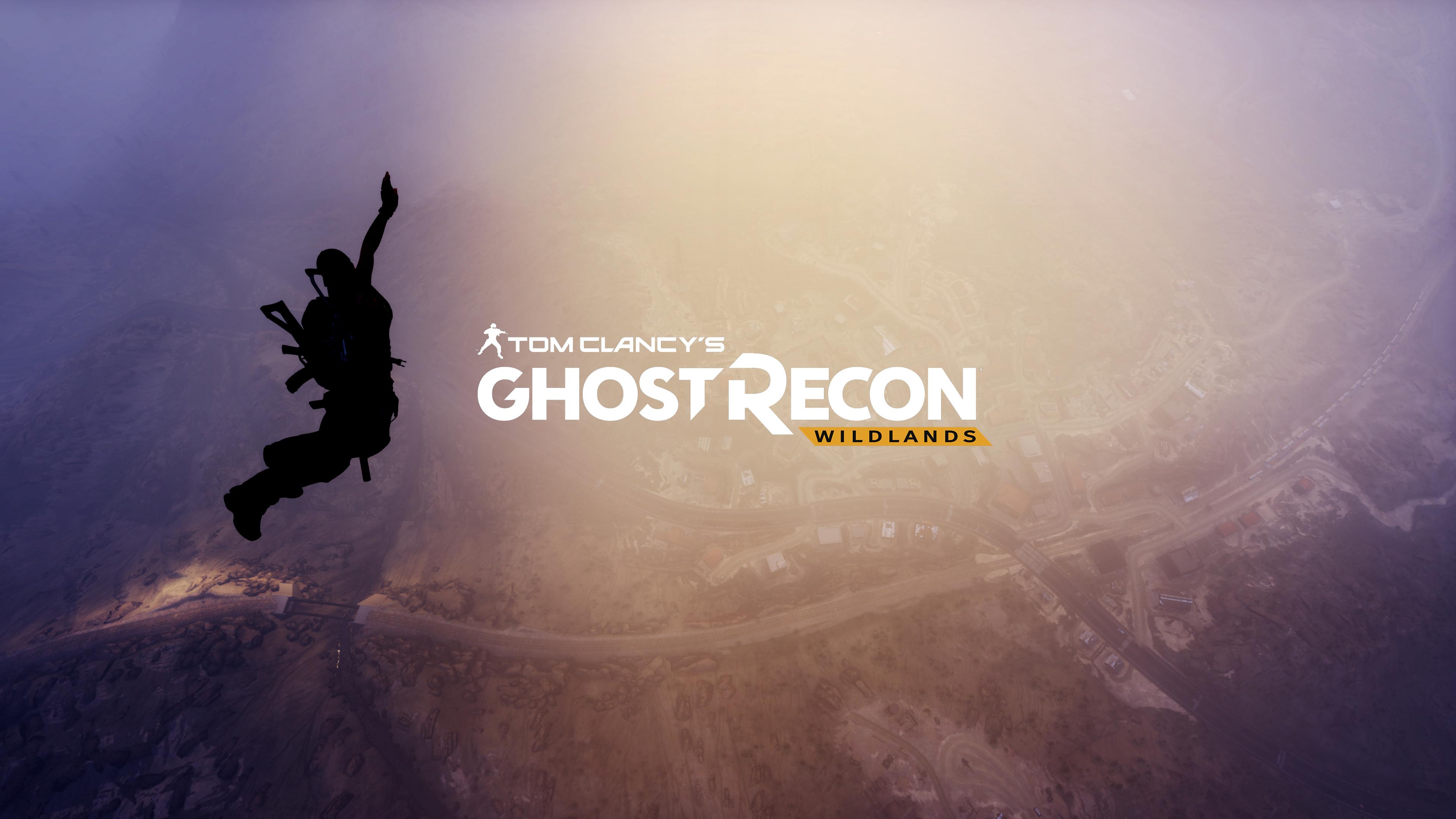 Tom Clancys Ghost Recon Wildlands 2017 Hd Games 4k: Tom Clancys Ghost Recon Wildlands 4k Logo, HD Games, 4k