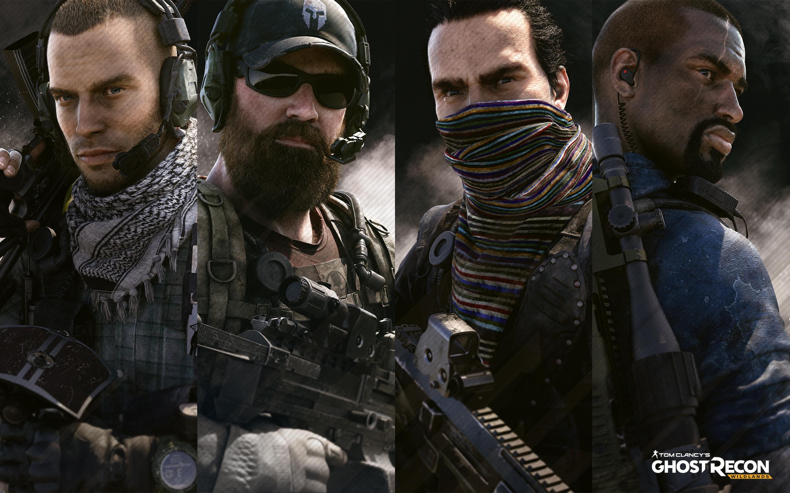 Tom Clancys Ghost Recon Wildlands Ghosts, HD Games, 4k