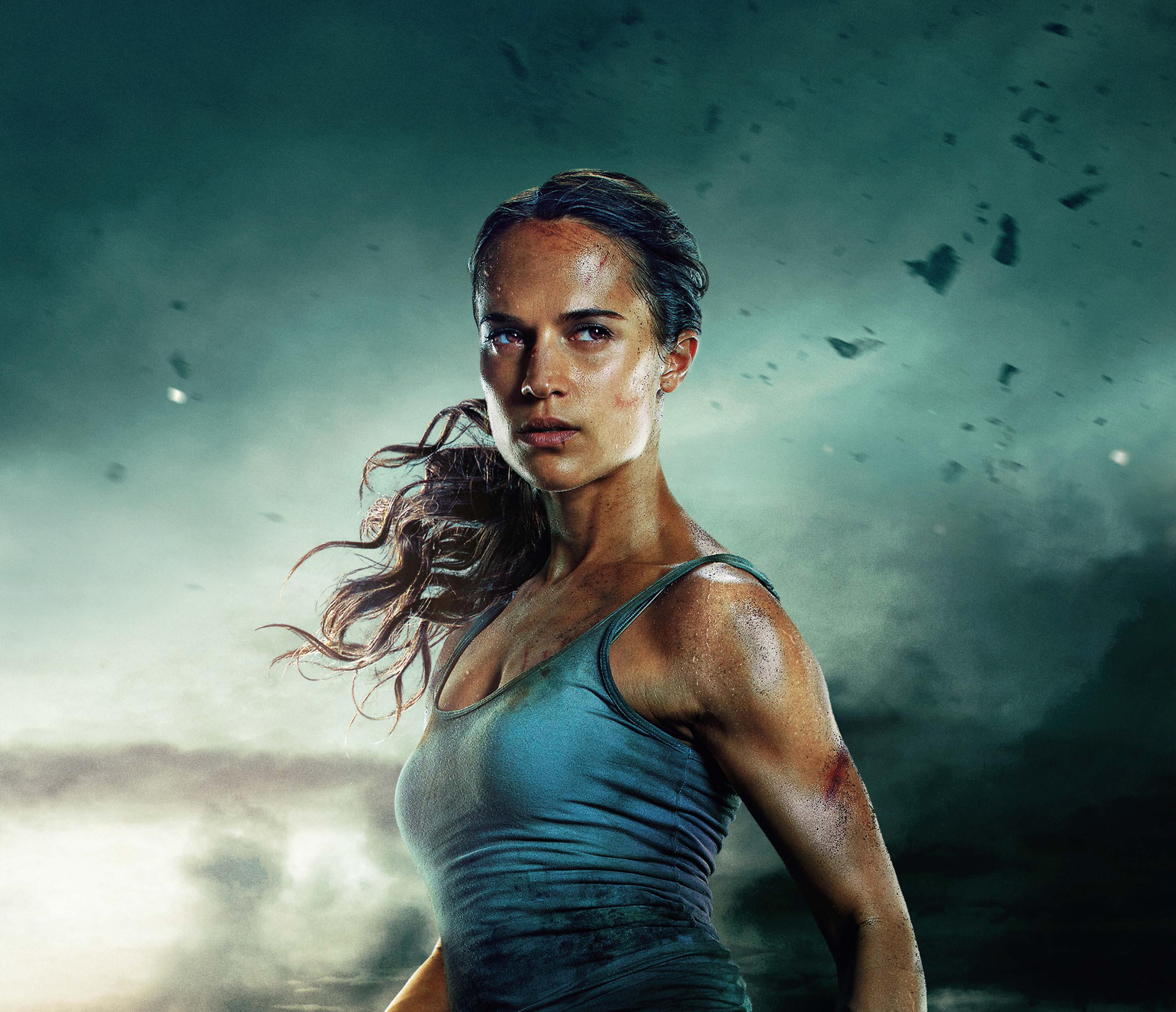 Tomb Raider 1080p Wallpaper: Tomb Raider 2018 Alicia Vikander 4k, HD Movies, 4k