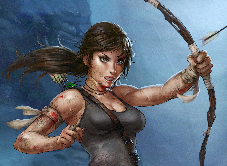3840x2160 Lara Croft Tomb Raider Artwork 4k Hd 4k: Tomb Raider Artwork, HD Games, 4k Wallpapers, Images