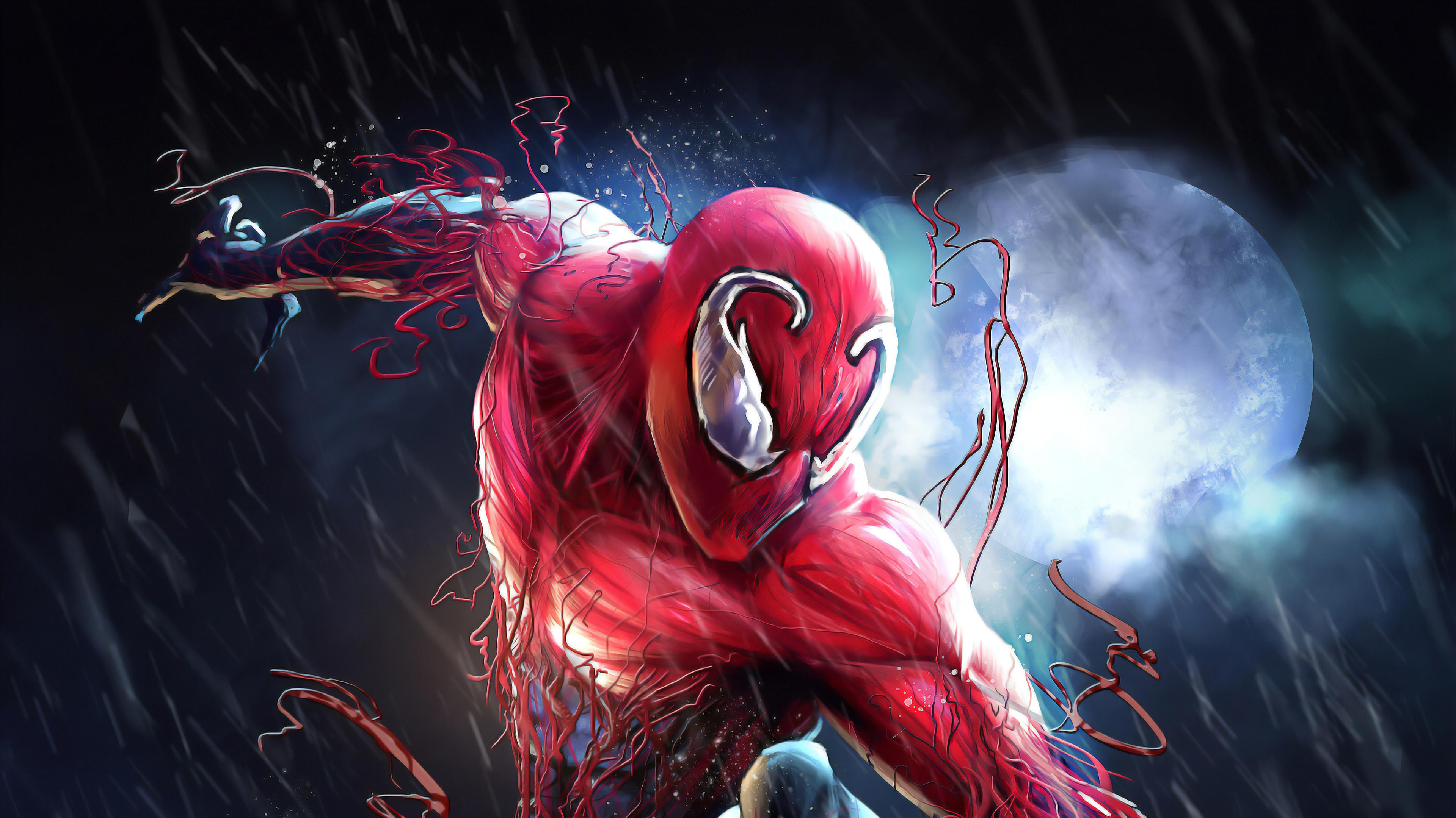 Toxin Spiderman 4k, HD Superheroes, 4k Wallpapers, Images ...