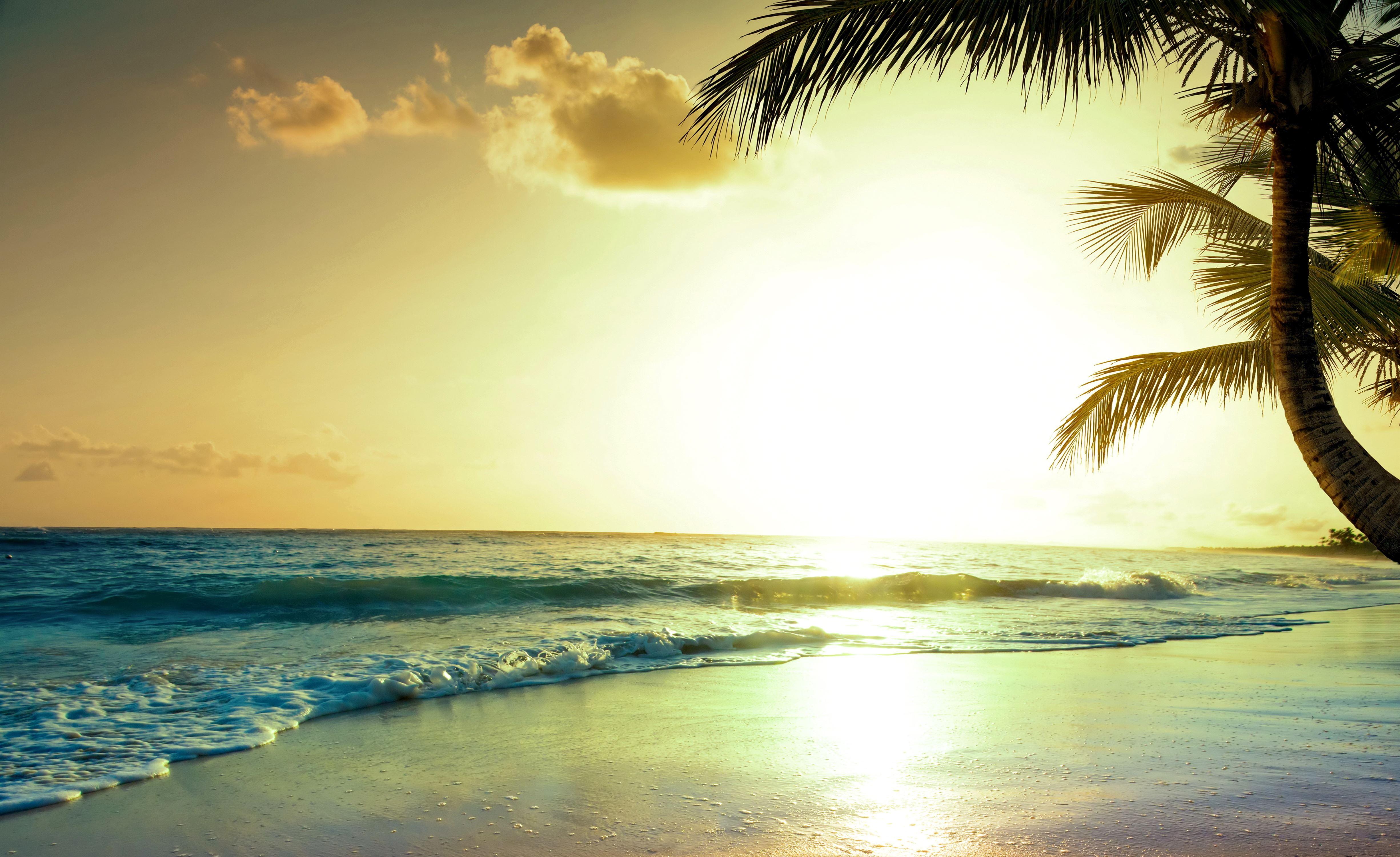 2048x1152 Tropical Beach Sunset 4k 2048x1152 Resolution HD ...