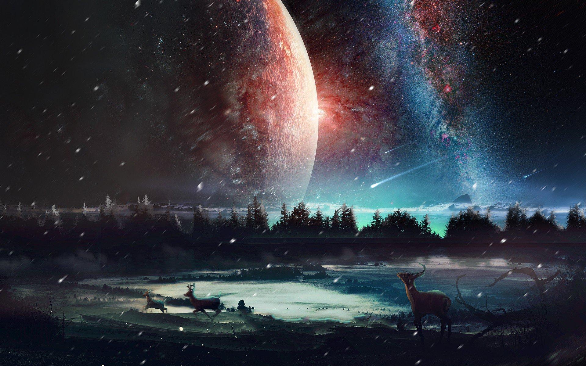 universe desktop wallpaper 4k-#42