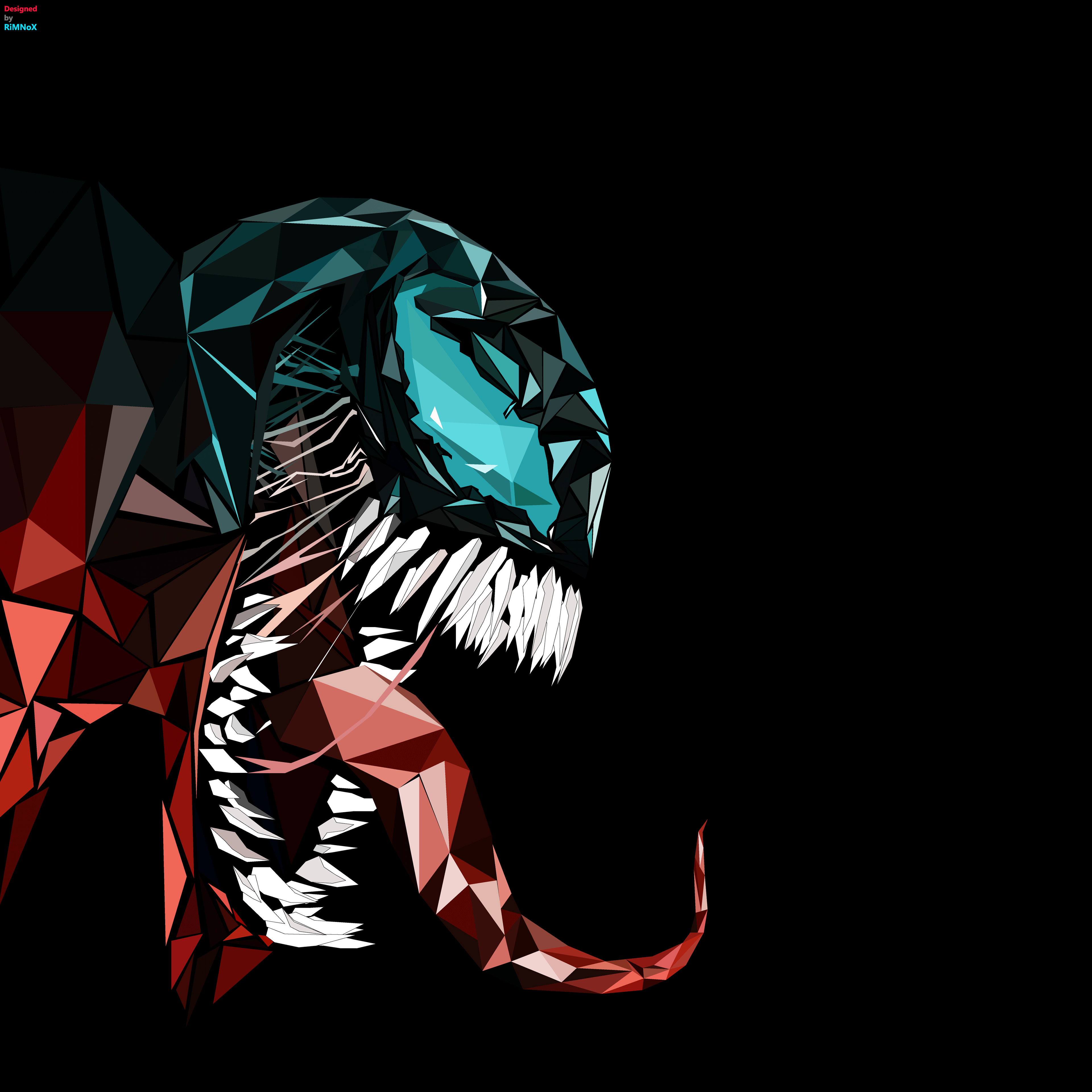 Venom Abstract 4k, HD Superheroes, 4k Wallpapers, Images