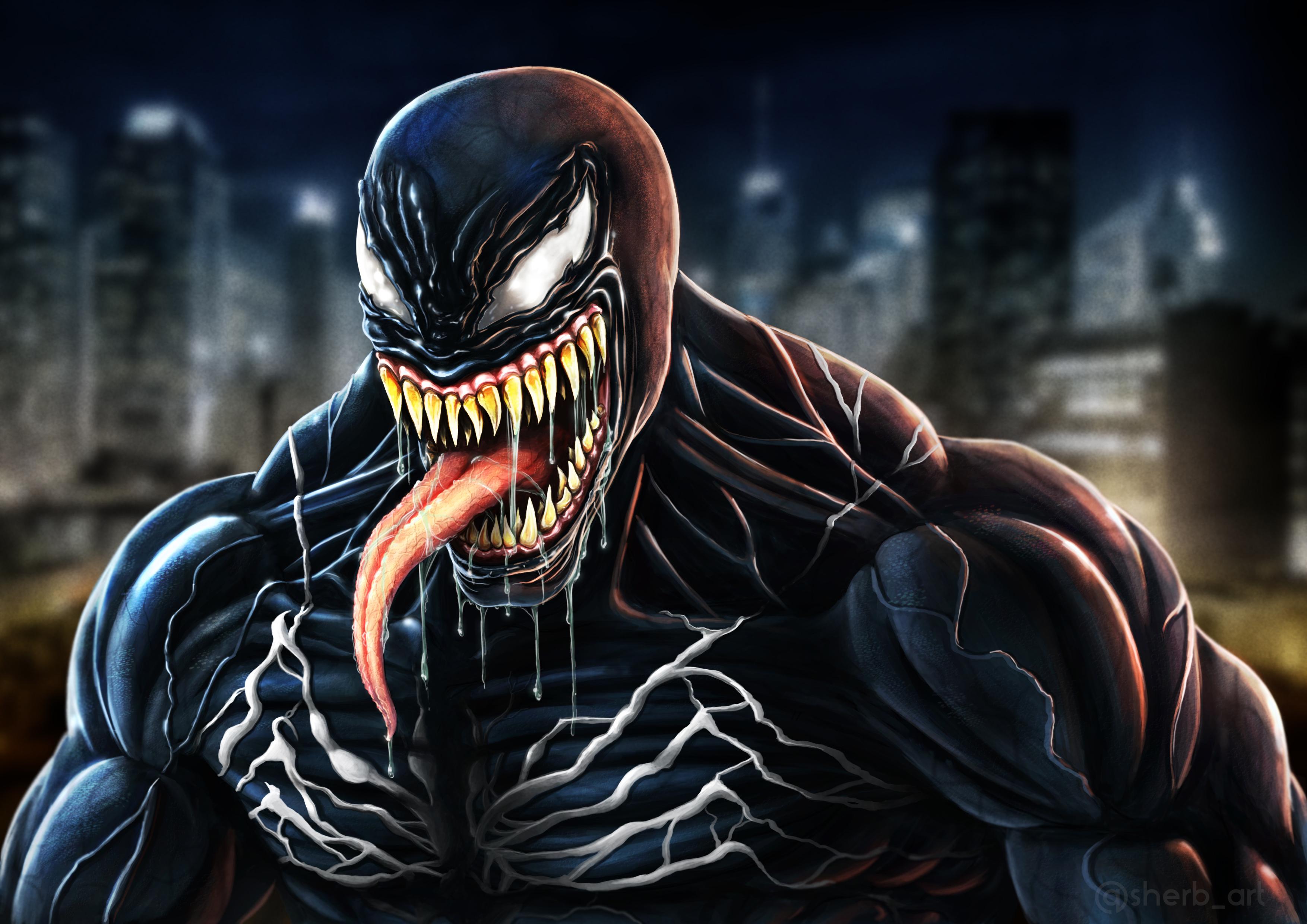 1920x1080 Venom Movie Fan Made Art Laptop Full HD 1080P HD ...