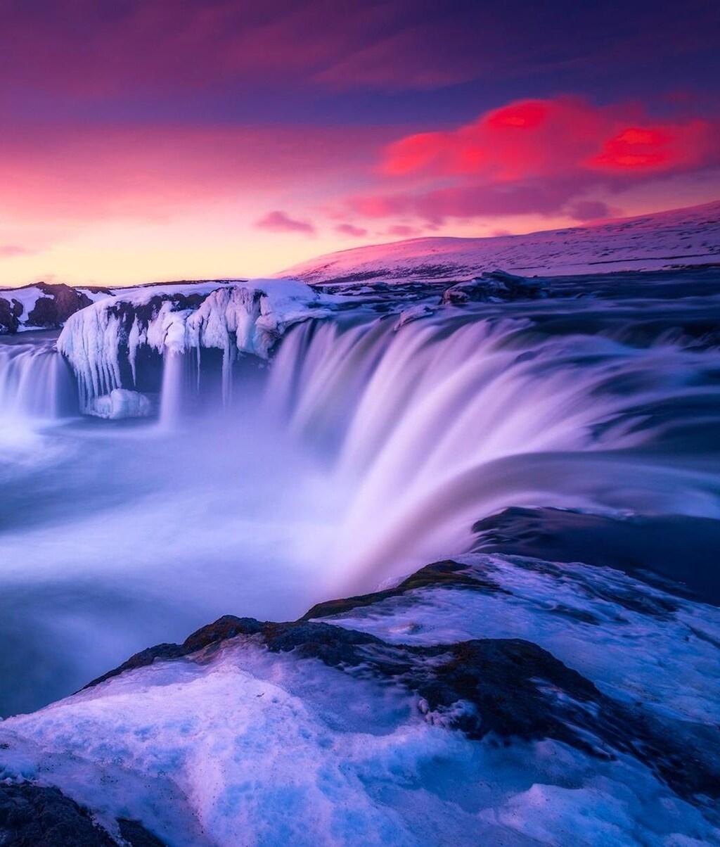 4k Resolution Wallpaper: Download Waterfall Iceland HD 4k Wallpapers In 1024x1204