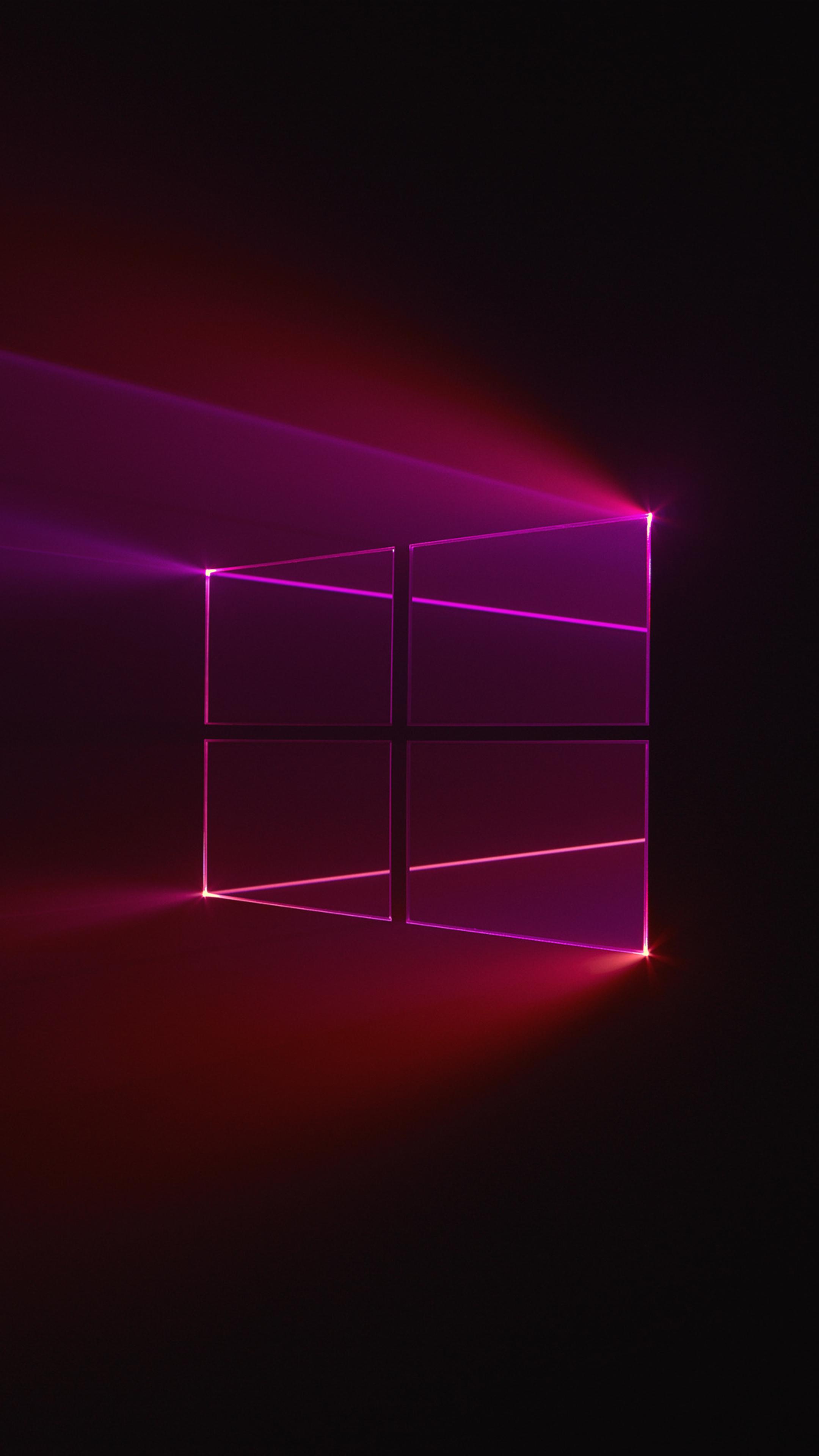 2160x3840 Windows 10 Glass Background Sony Xperia X,XZ,Z5 ...