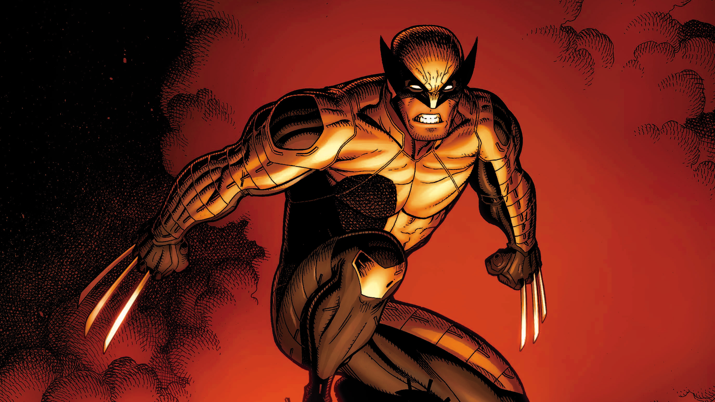 Wolverine artworks hd superheroes 4k wallpapers images backgrounds photos and pictures - Wallpaper wolverine 4k ...