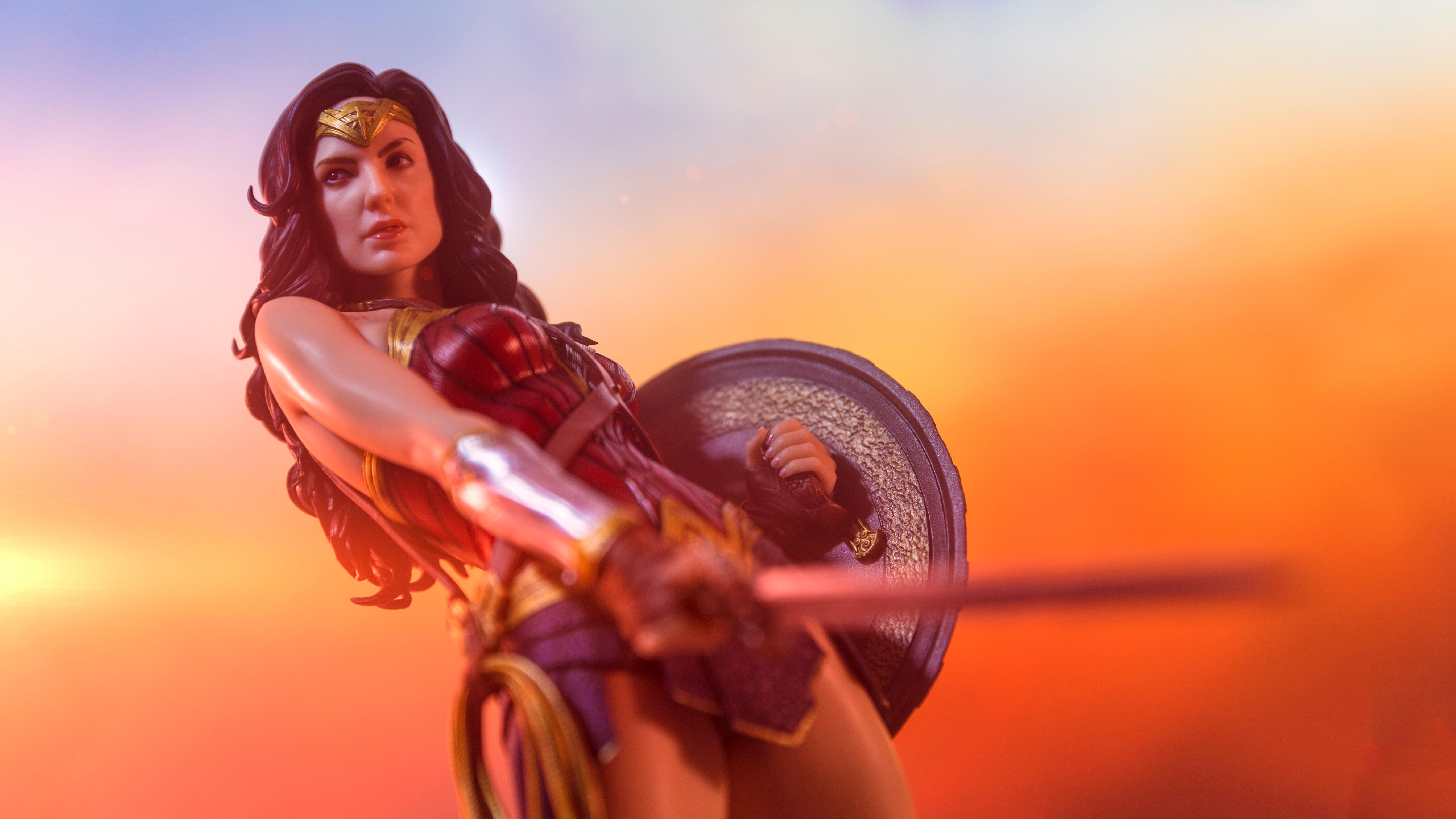 Wonder Woman 5k Collectible Photography, HD Superheroes