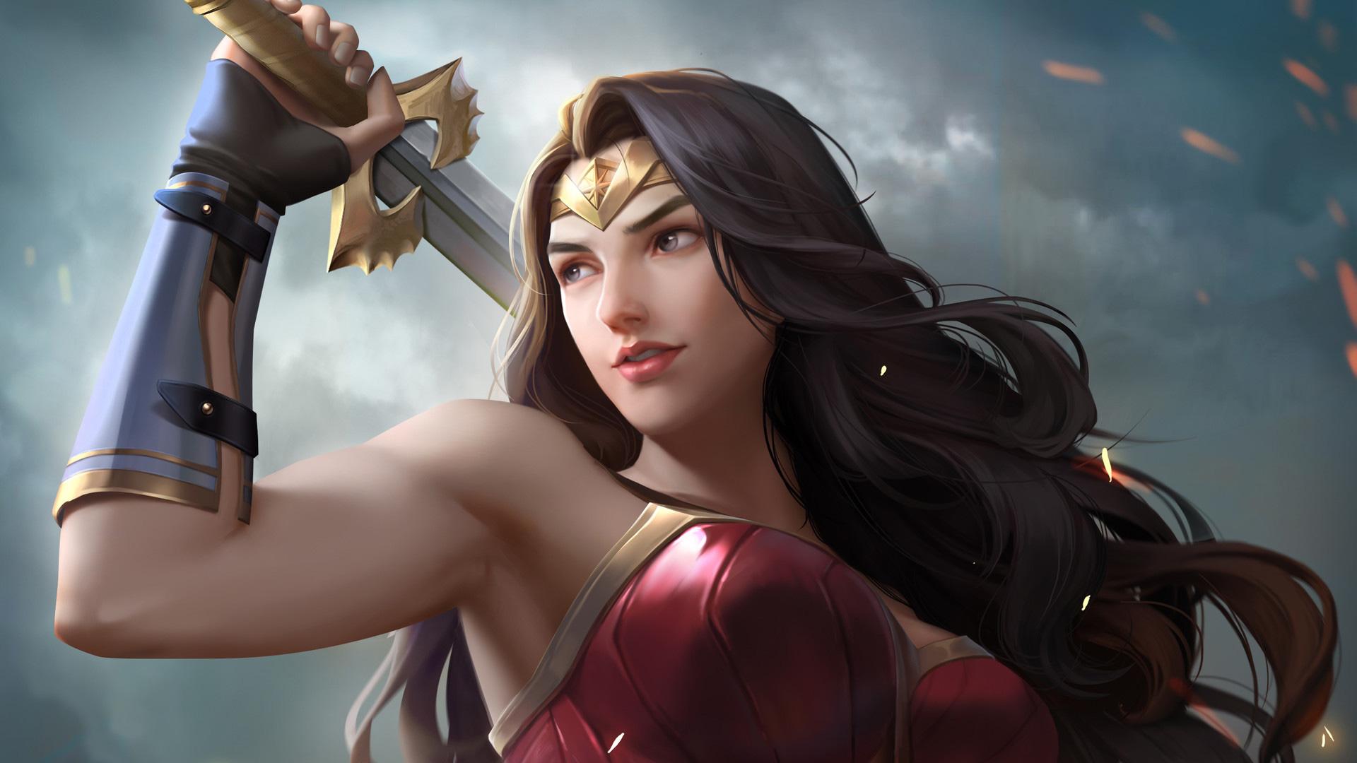 1280x1024 Wonder Woman Movie 1280x1024 Resolution Hd 4k: Wonder Woman Artwork 2018 Latest, HD Superheroes, 4k