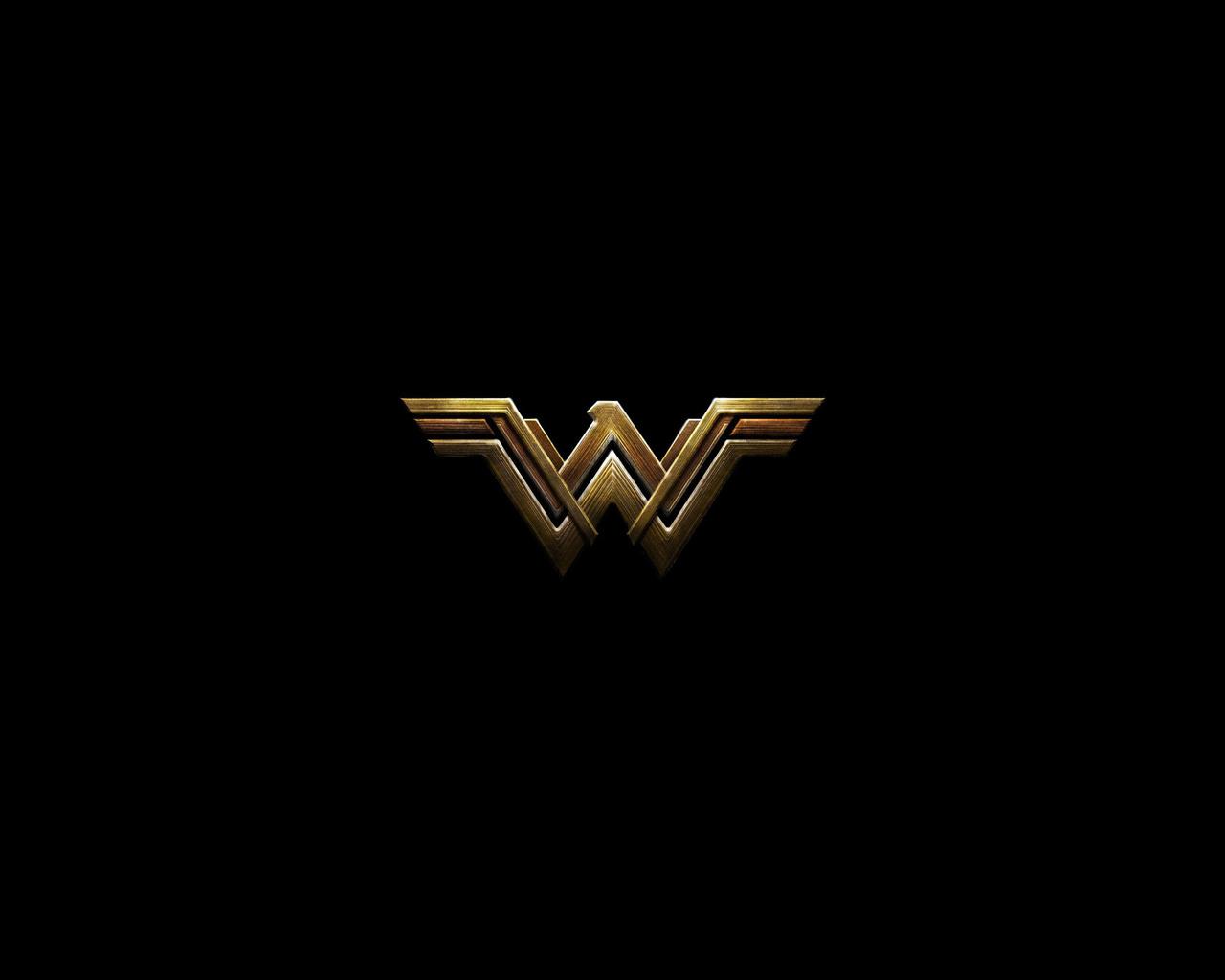 1280x1024 Wonder Woman Movie 1280x1024 Resolution Hd 4k: 1280x1024 Wonder Woman Dark Logo 4k 1280x1024 Resolution