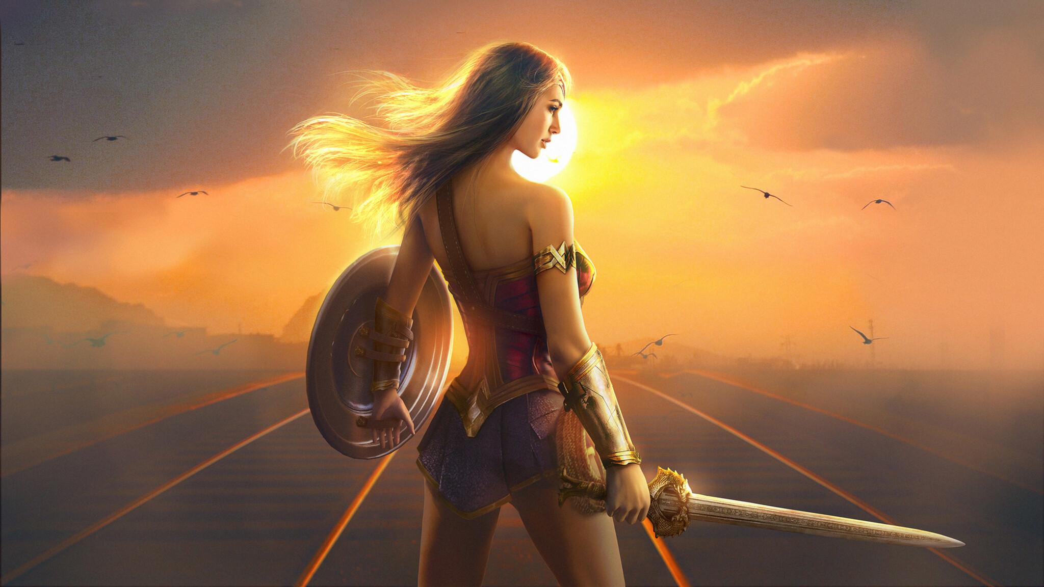 2048x1152 Wonder Woman Fan Art Hd 2048x1152 Resolution HD