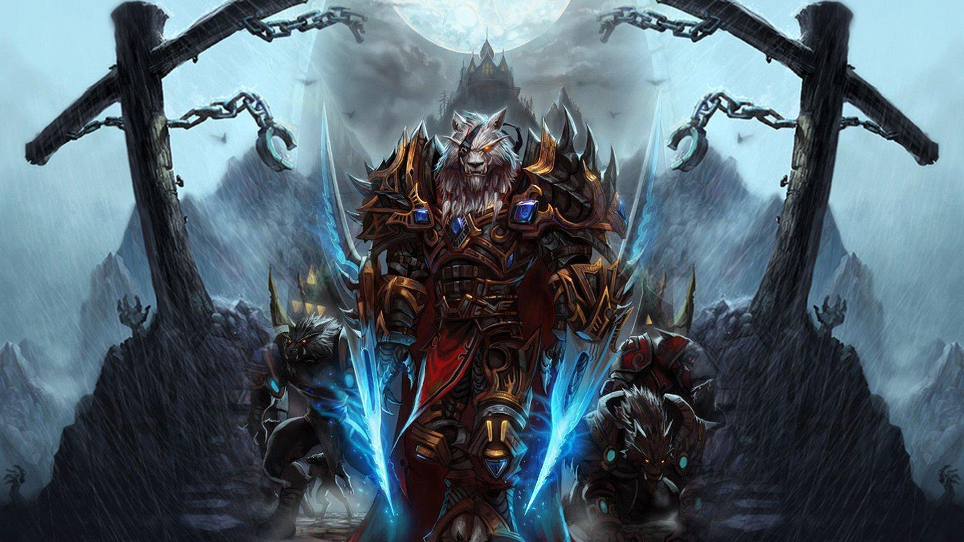 World Of Warcraft 4k Wallpaper: World Of Warcraft Worgen Character, HD Games, 4k