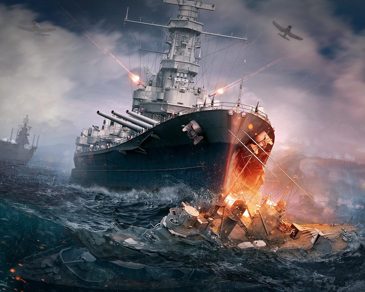 World Of Warships Wallpaper: 1280x1024 World Of Warships 1280x1024 Resolution HD 4k