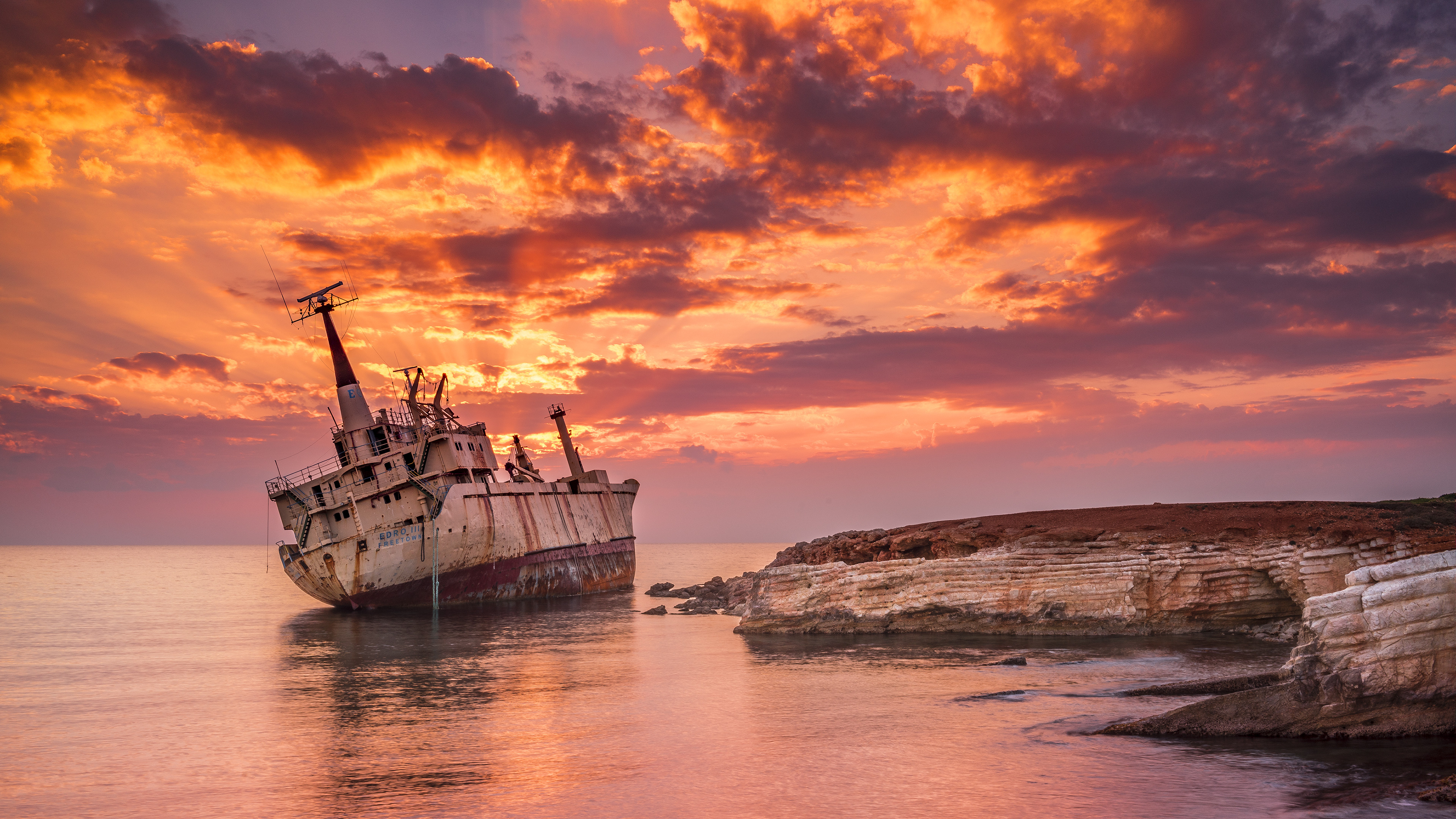 Wrecked ship 4k hd others 4k wallpapers images - Hd 4k resolution wallpaper ...