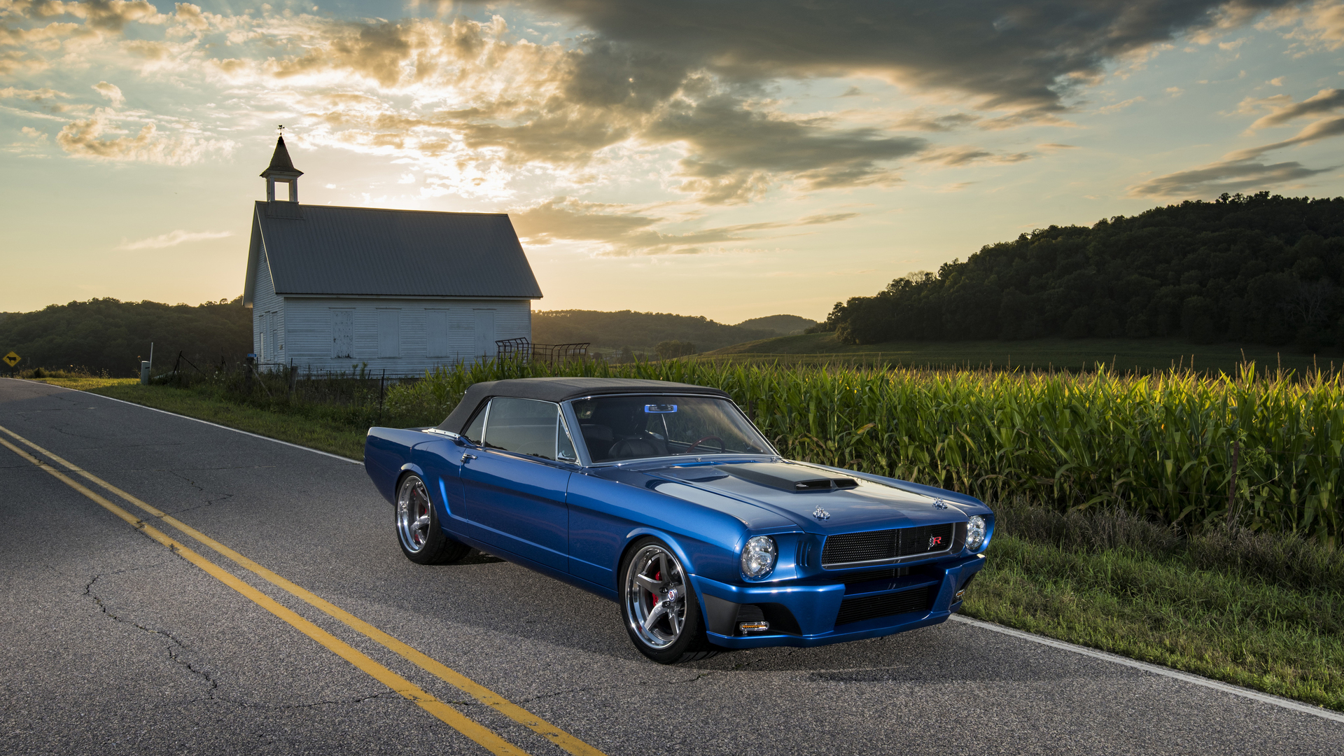 1920x1080 1965 Ringbrothers Ford Mustang Convertible