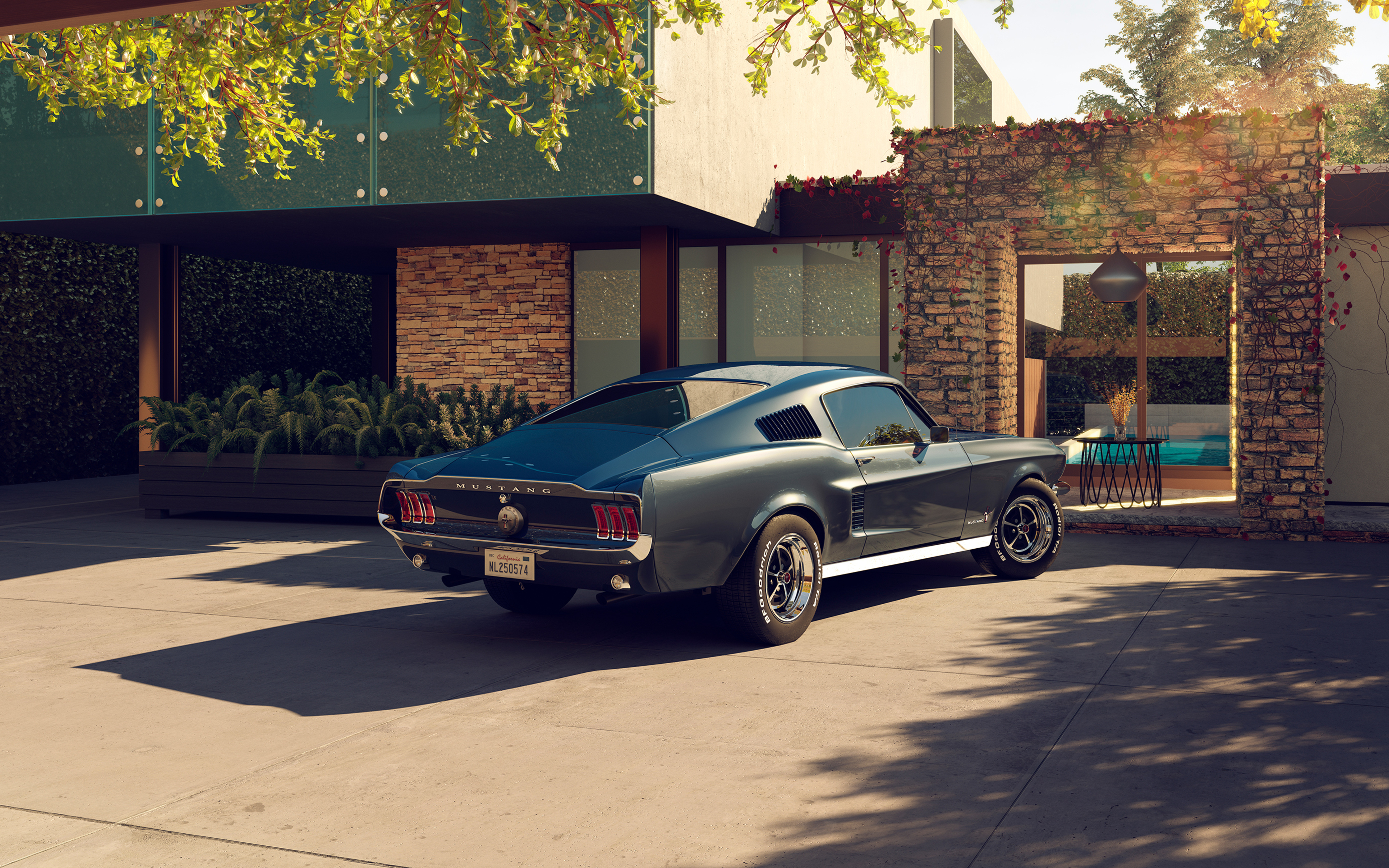 Ford Mustang 1967 Wallpaper Iphone