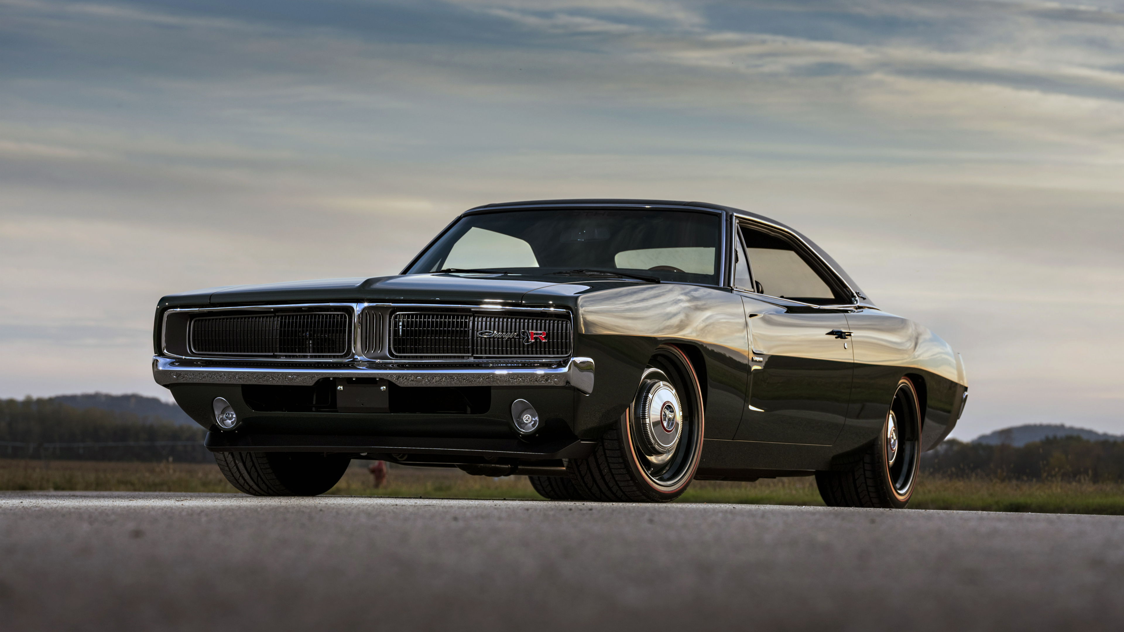 3840x2160 1969 ringbrothers dodge charger defector front - Dodge car 4k wallpaper ...