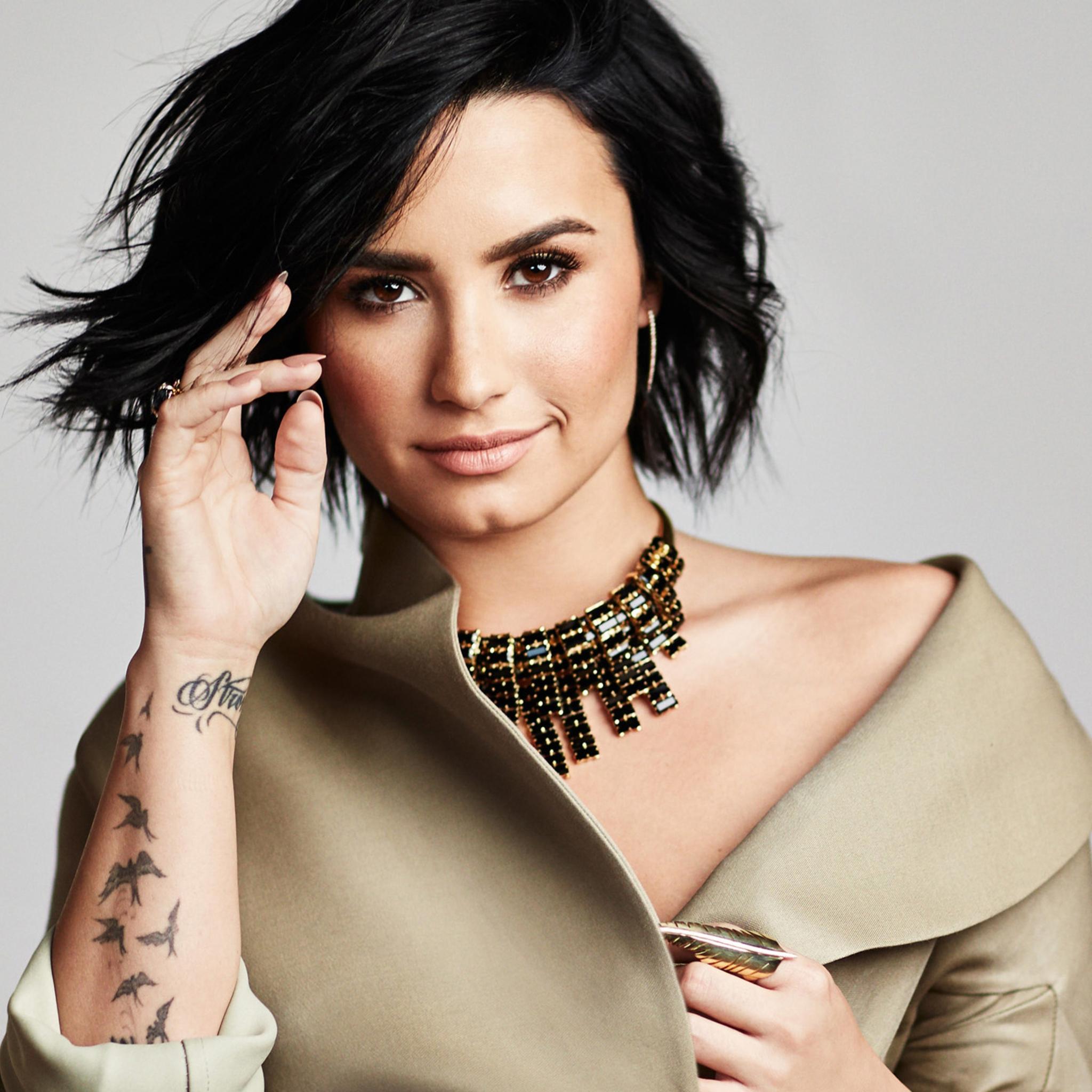 Demi Lovato Wallpaper: 2048x2048 2016 Demi Lovato Ipad Air HD 4k Wallpapers
